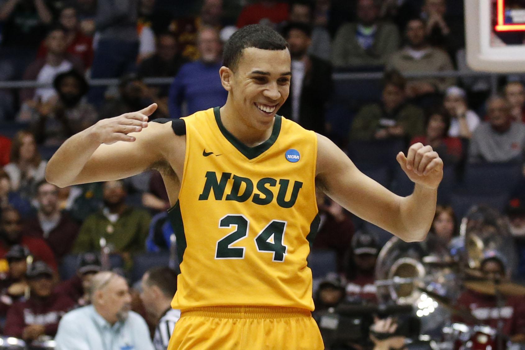 NCAA Basketball: NCAA Tournament First Four-North Carolina Central Eagles vs North Dakota State Bison