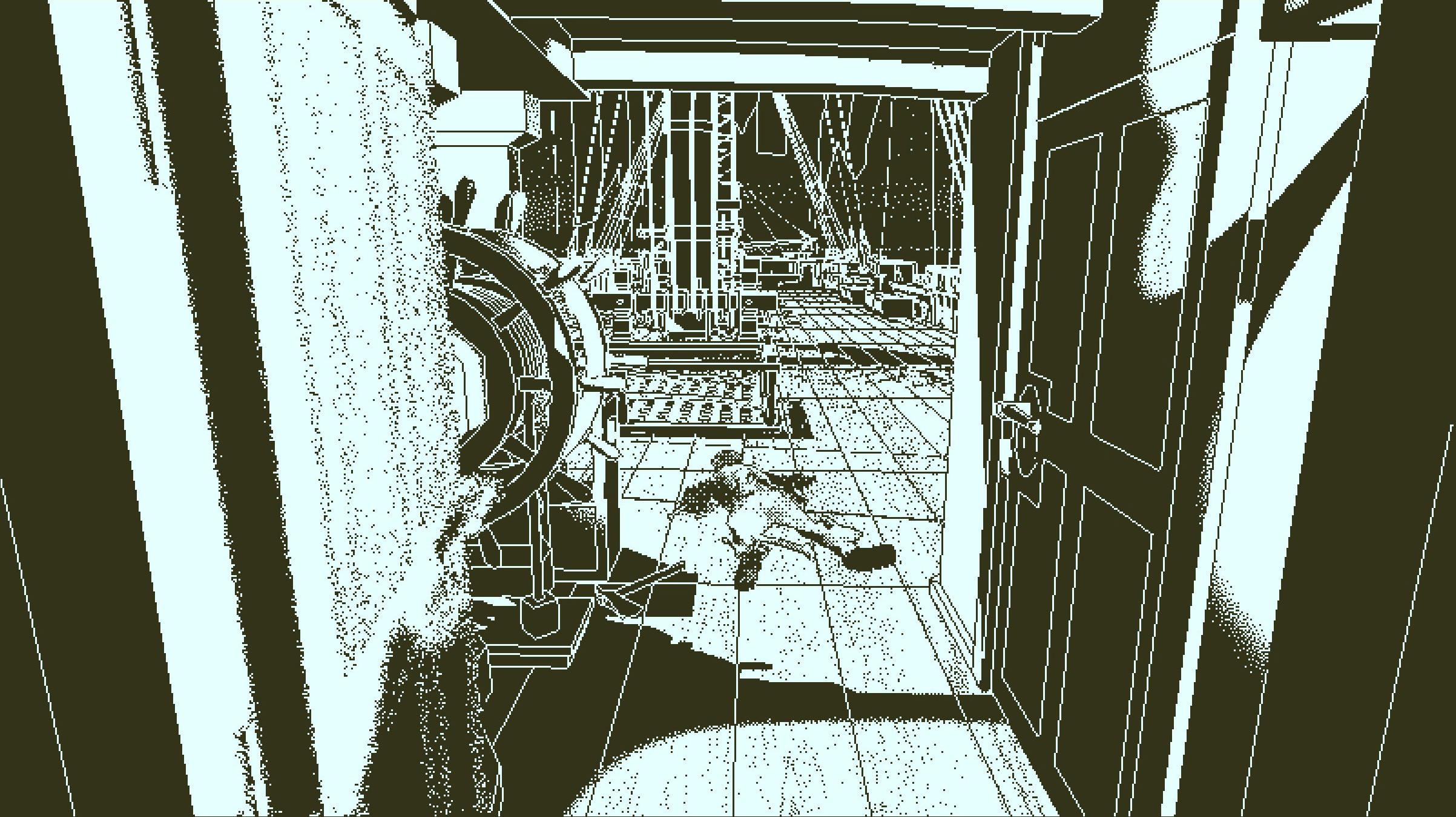 Return of the Obra Dinn - a body on the deck