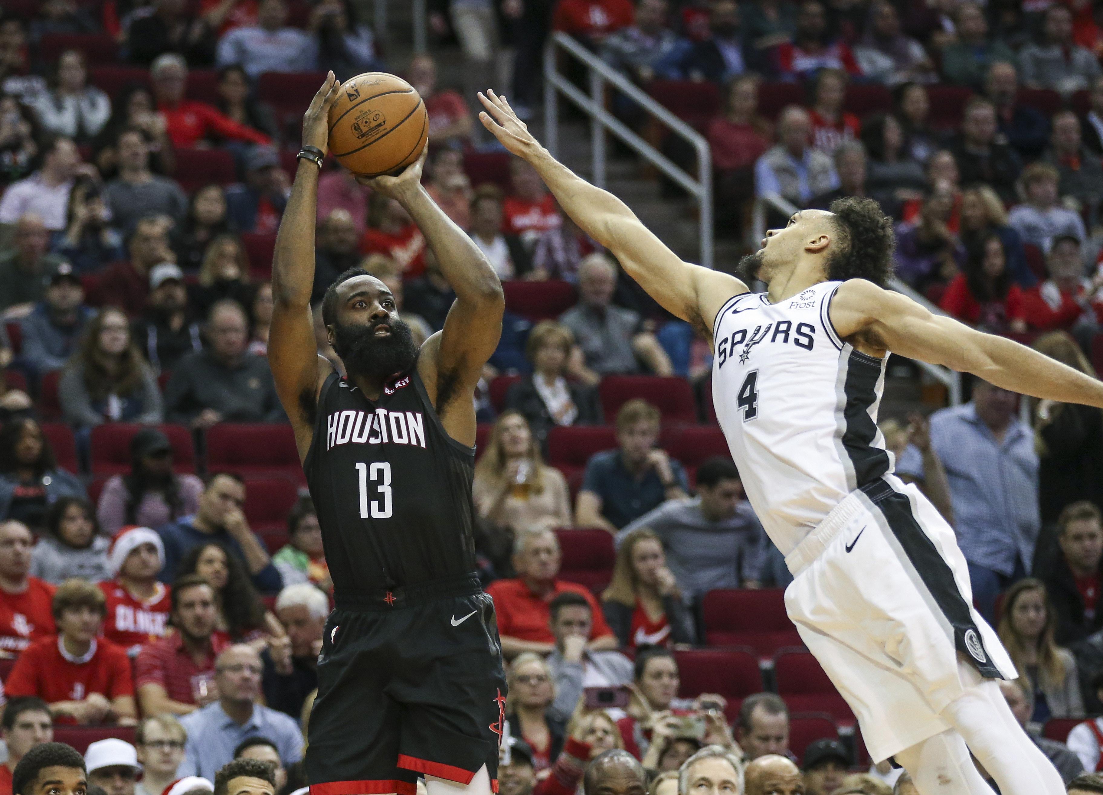 buy online e397c 4577c Houston Rockets vs. San Antonio Spurs game preview - The ...