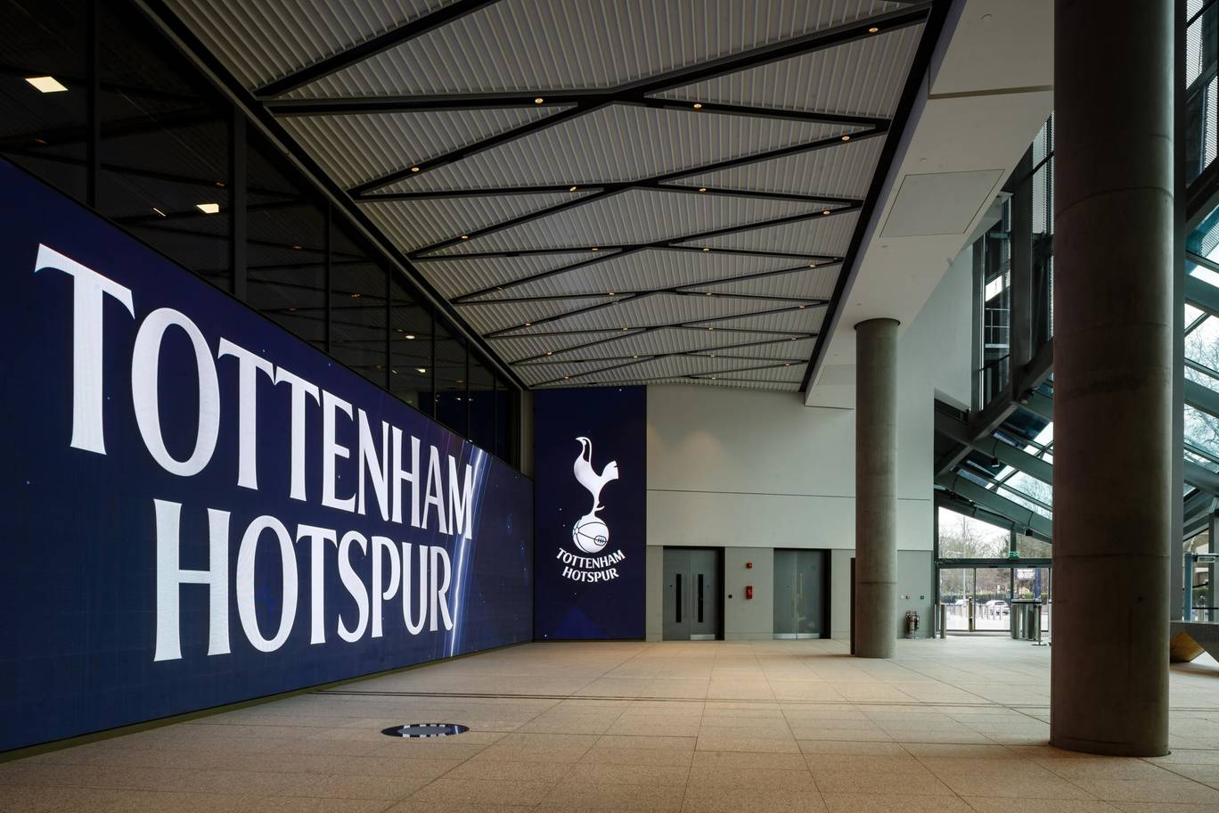 Check out these awesome photos from inside Tottenham's new stadium