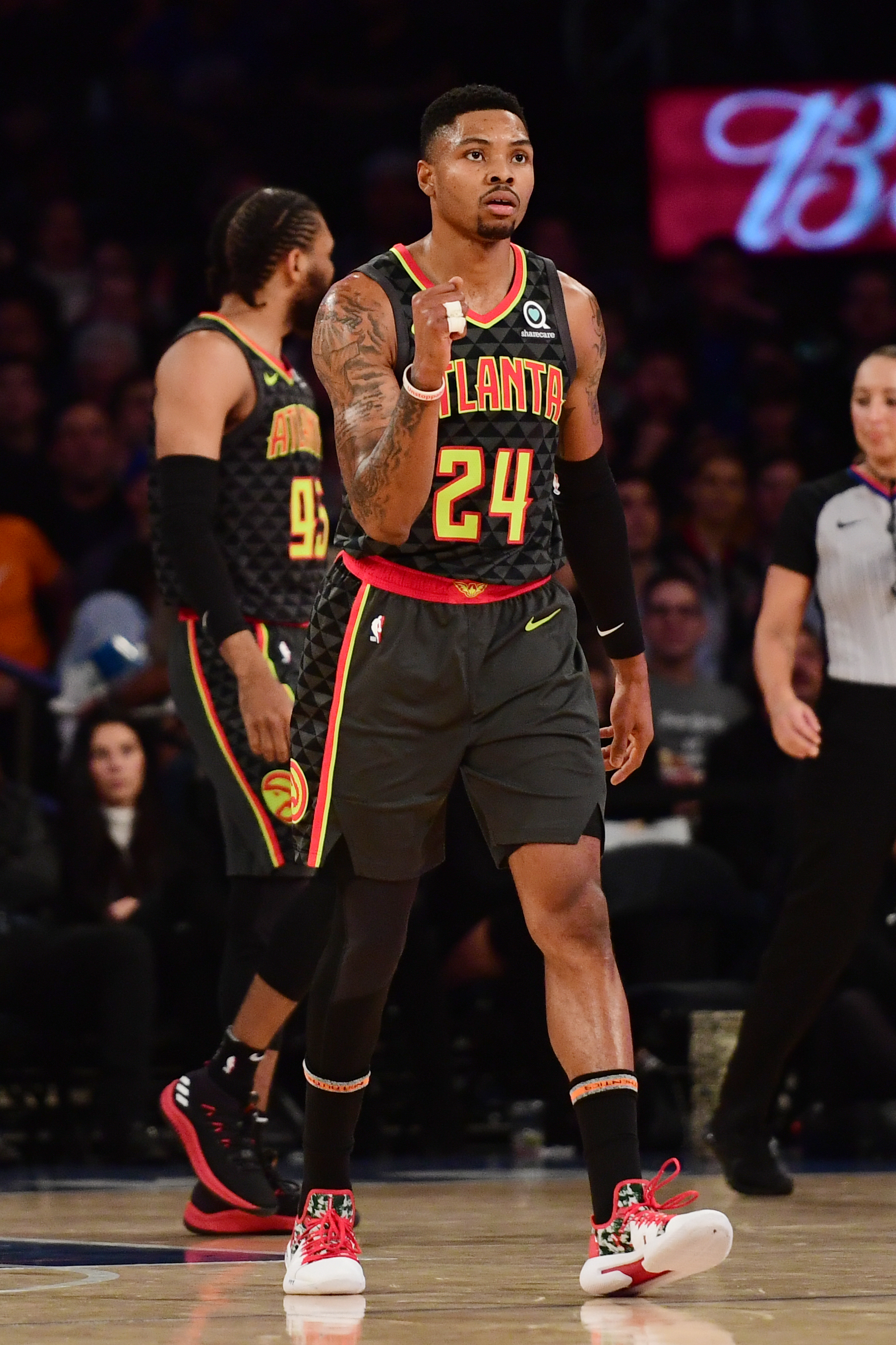 93749185e57 ATL and 29  Update from practice and Kent Bazemore s reaction to a crazy  week