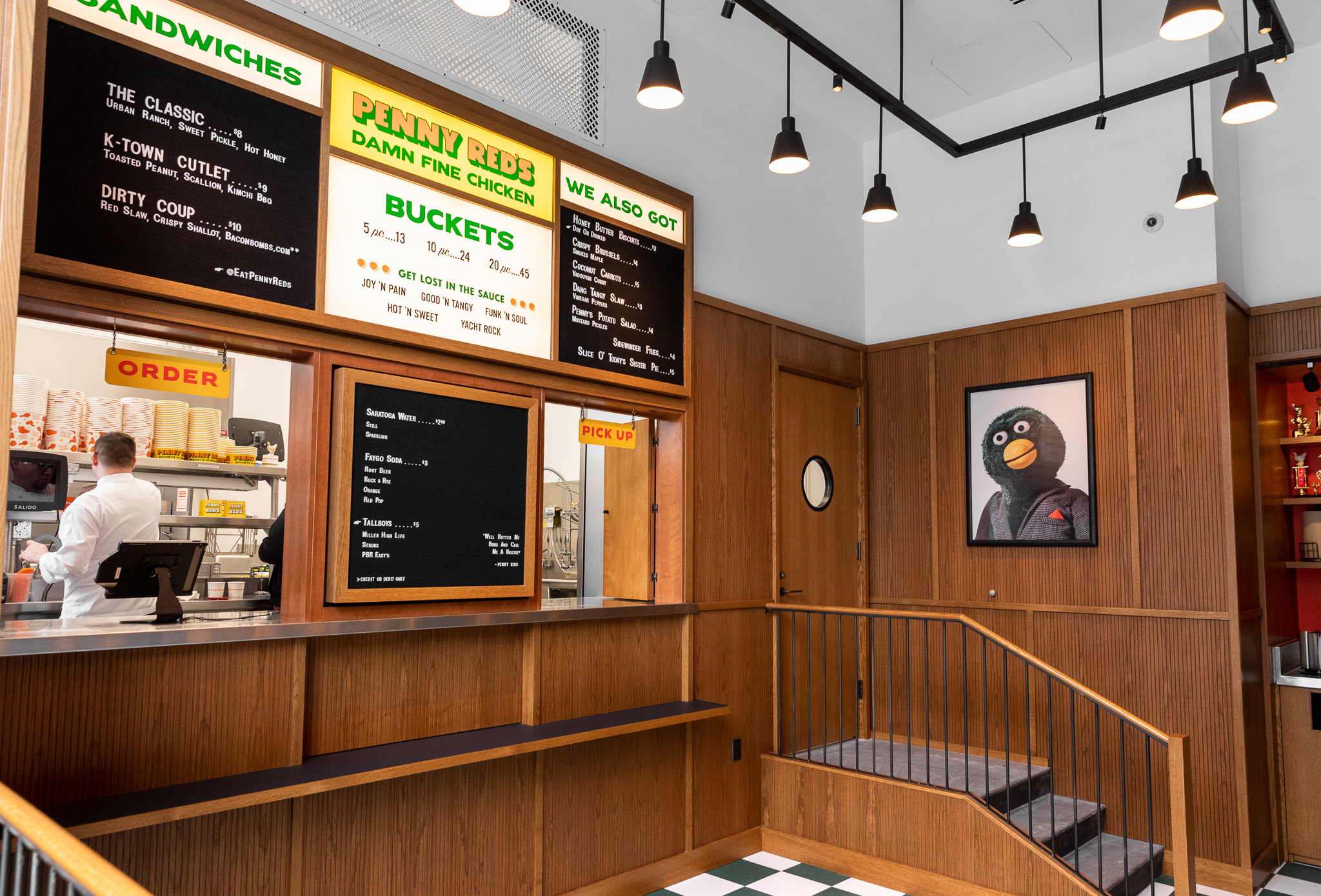 Look Inside Penny Red's and the Brakeman at Detroit's Shinola Hotel
