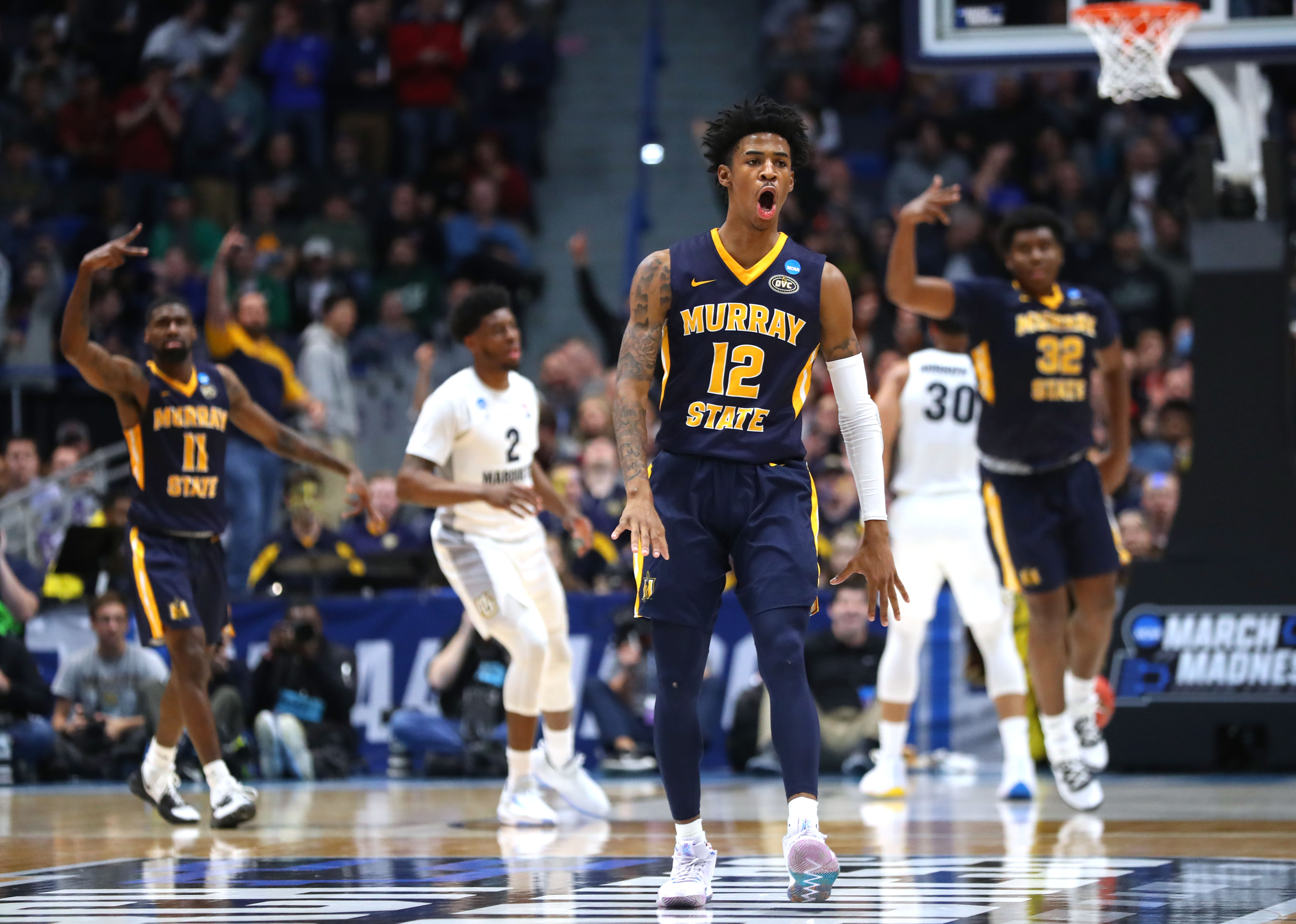 Ja Morant is already putting up triple doubles in the NCAA Tournament