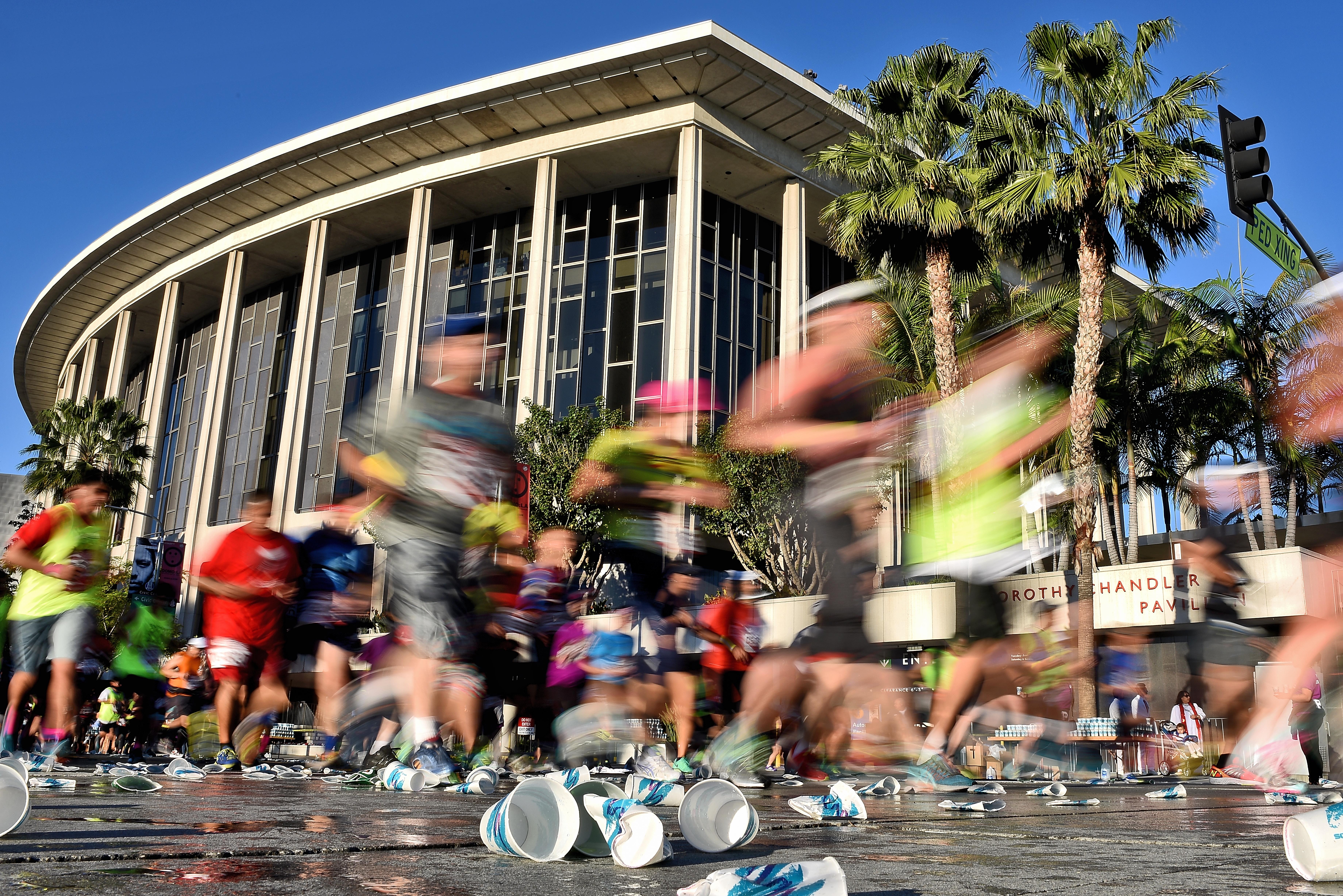 How to get around during the LA Marathon