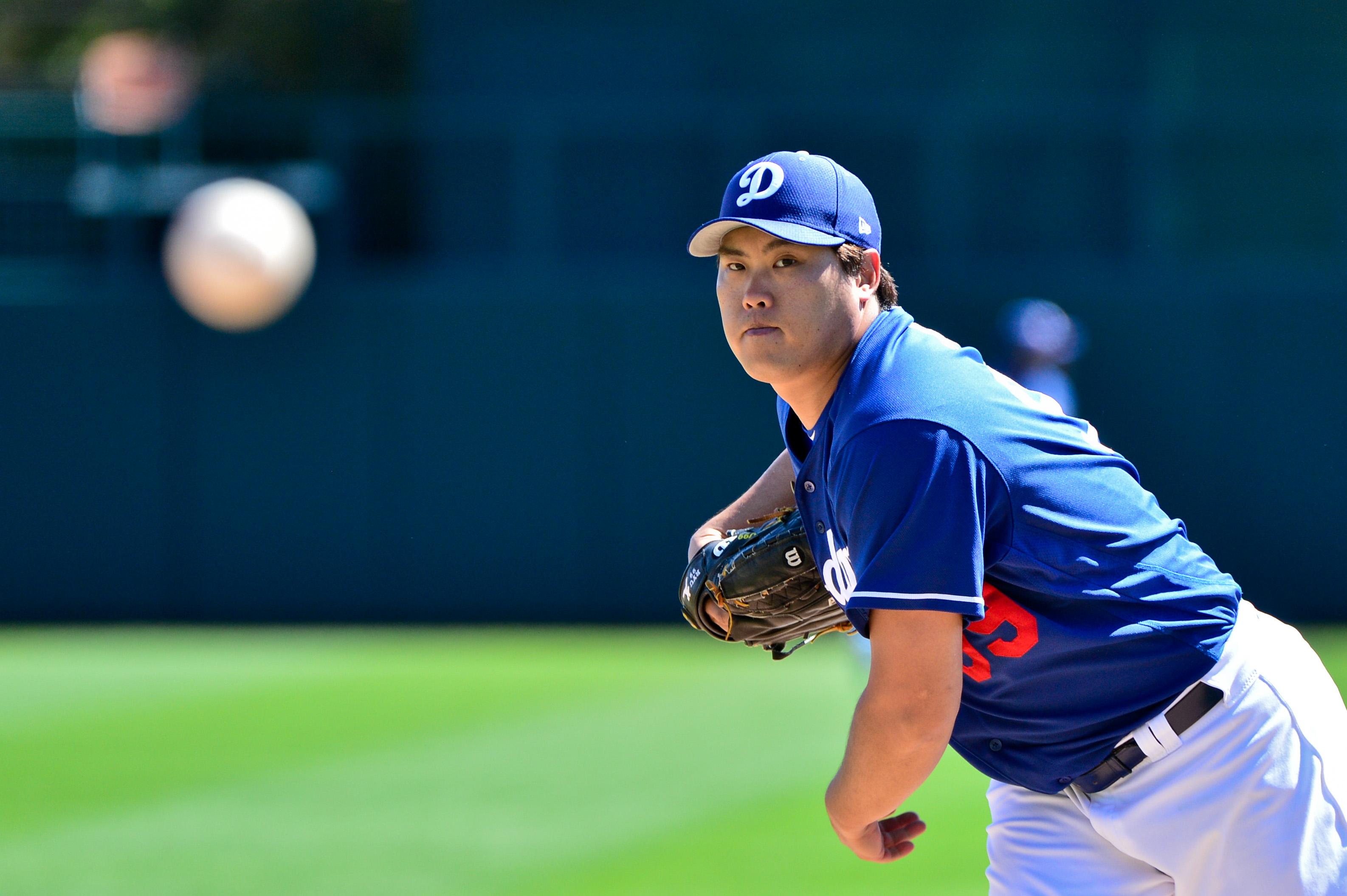 MLB: Spring Training-Cincinnati Reds at Los Angeles Dodgers