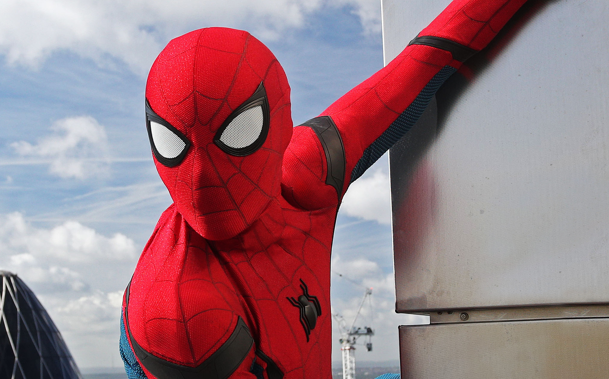 Disney reveals redesigned Spider-Man suit, new Marvel park attraction