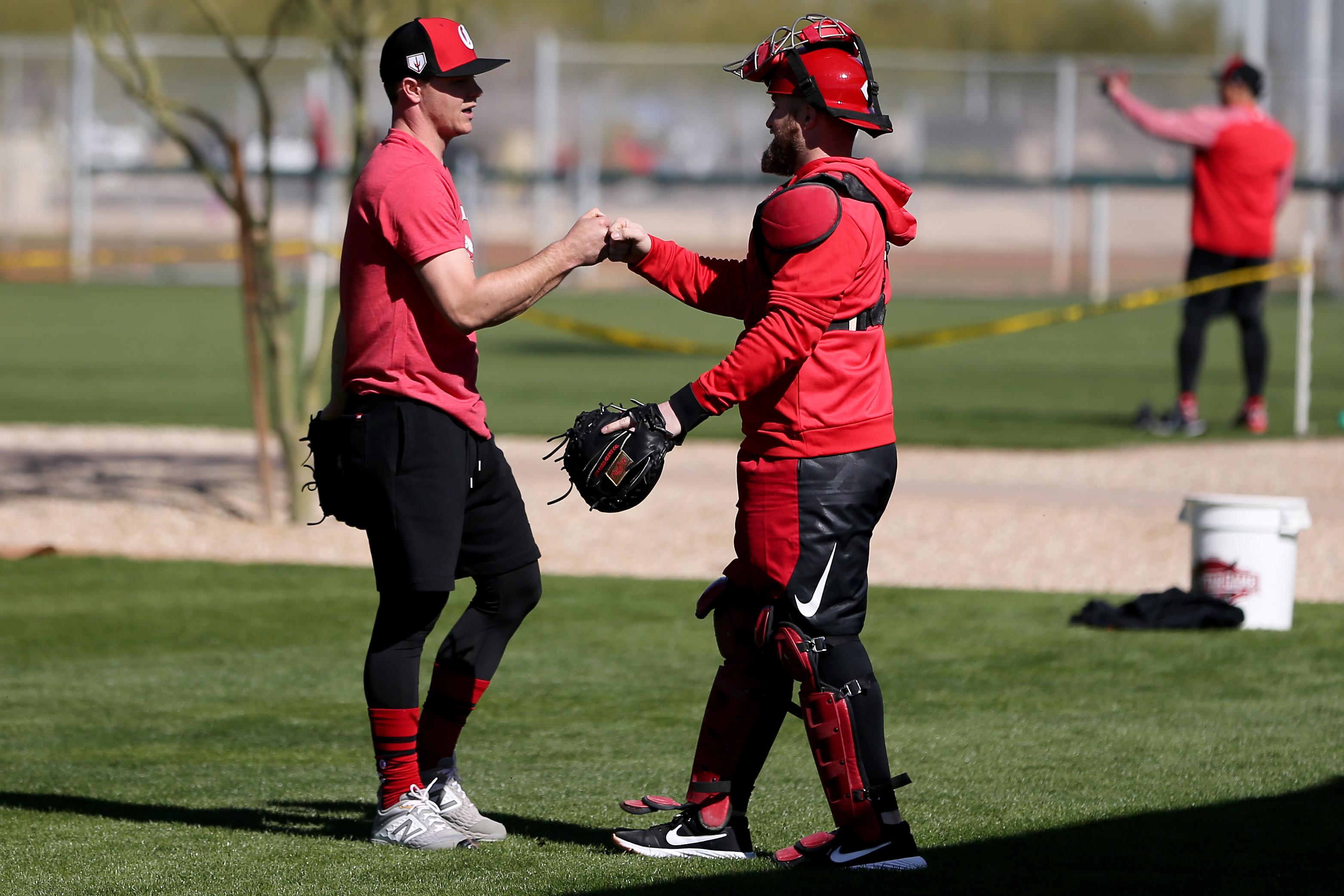 MLB: Cincinnati Reds-Report Day