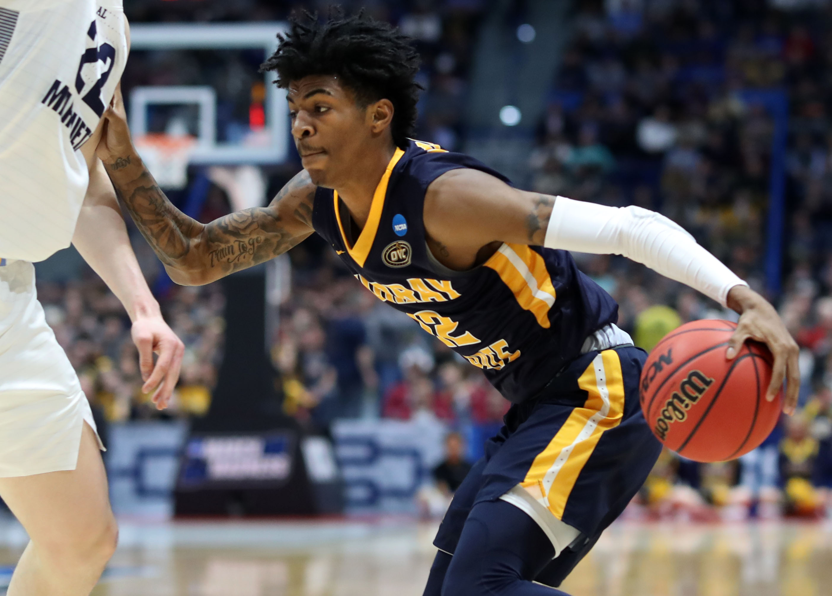 Ja Morant joins Zion Williamson in moving point spreads in 2019 NCAA tournament
