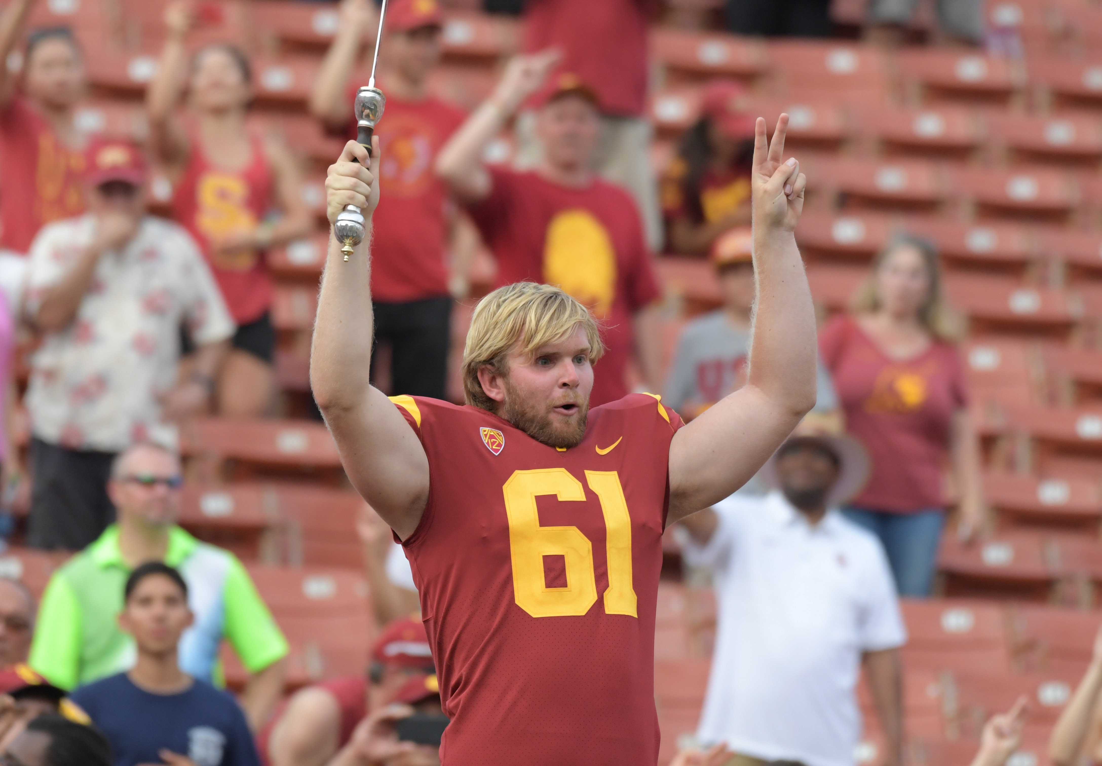 How USC's Jake Olson is trying to help cure the cancer that took his eyesight
