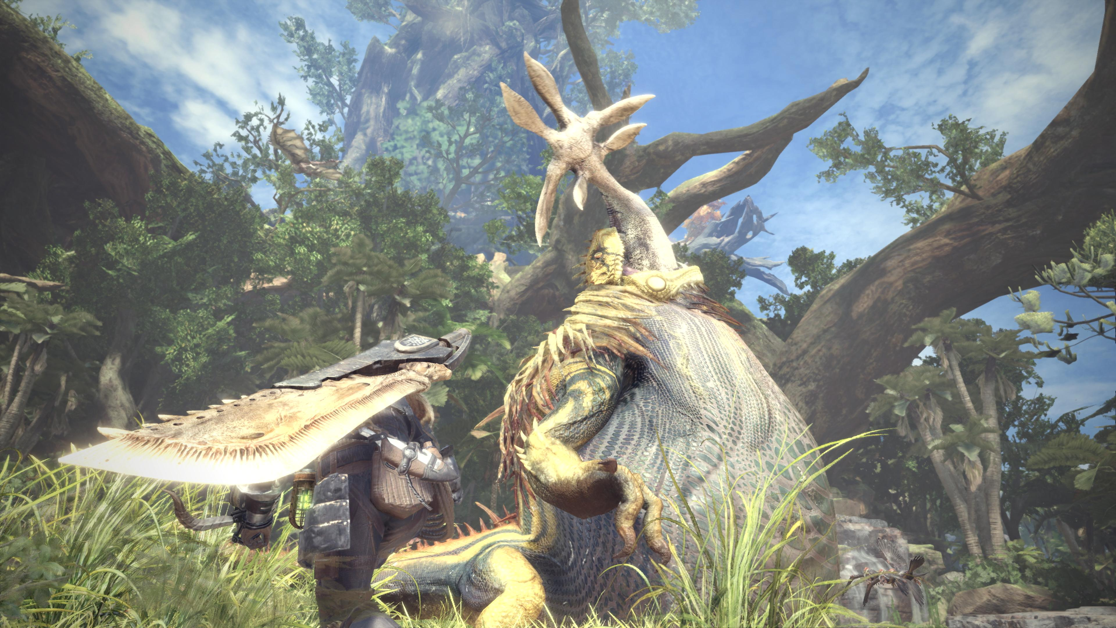 Monster Hunter: World is getting a high-resolution texture pack