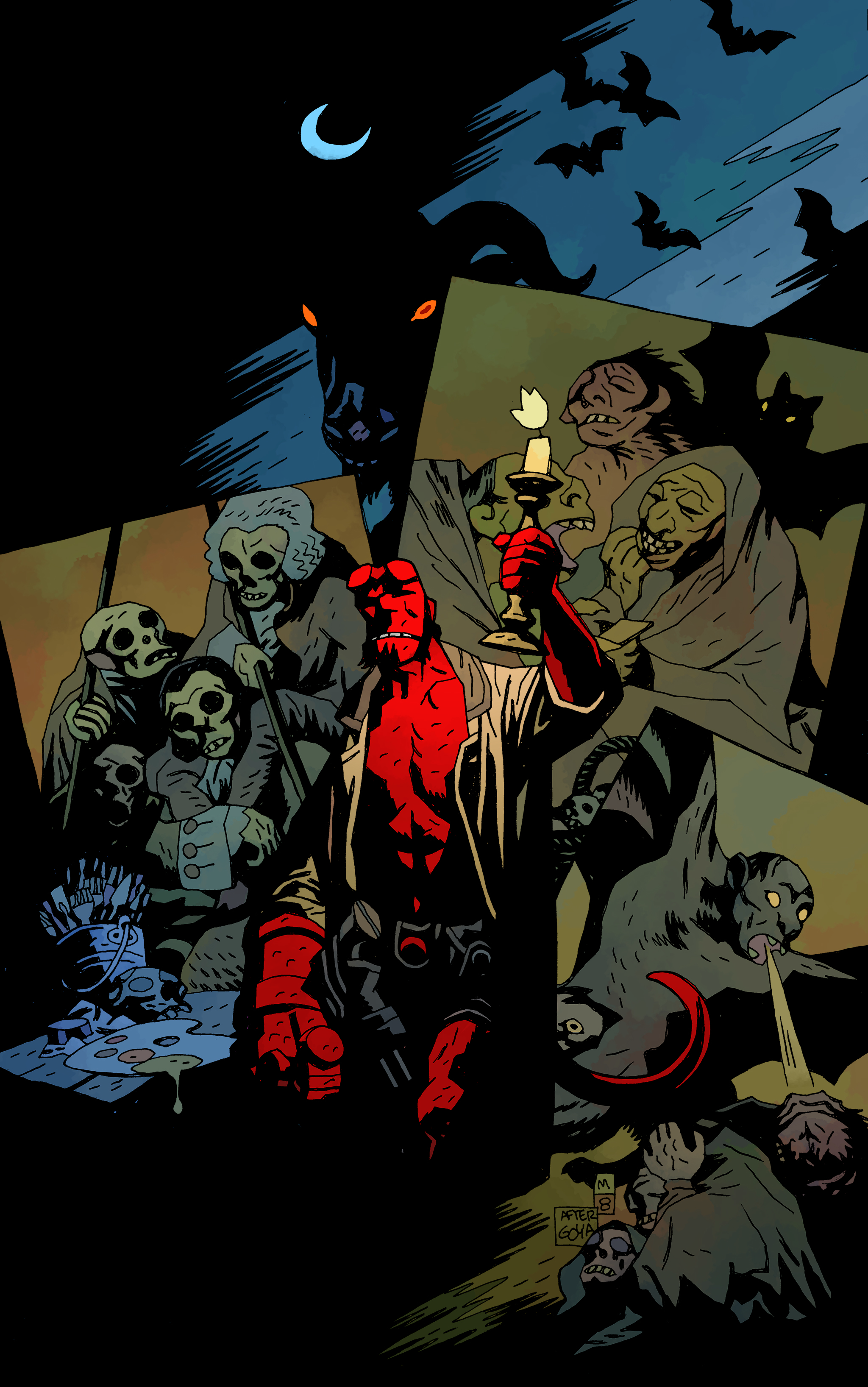 Celebrate Hellboy Day with an early look at Hellboy: 25 Years of Covers