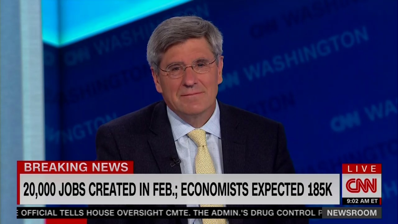 Stephen Moore, the Trump loyalist nominated to the Fed, explained