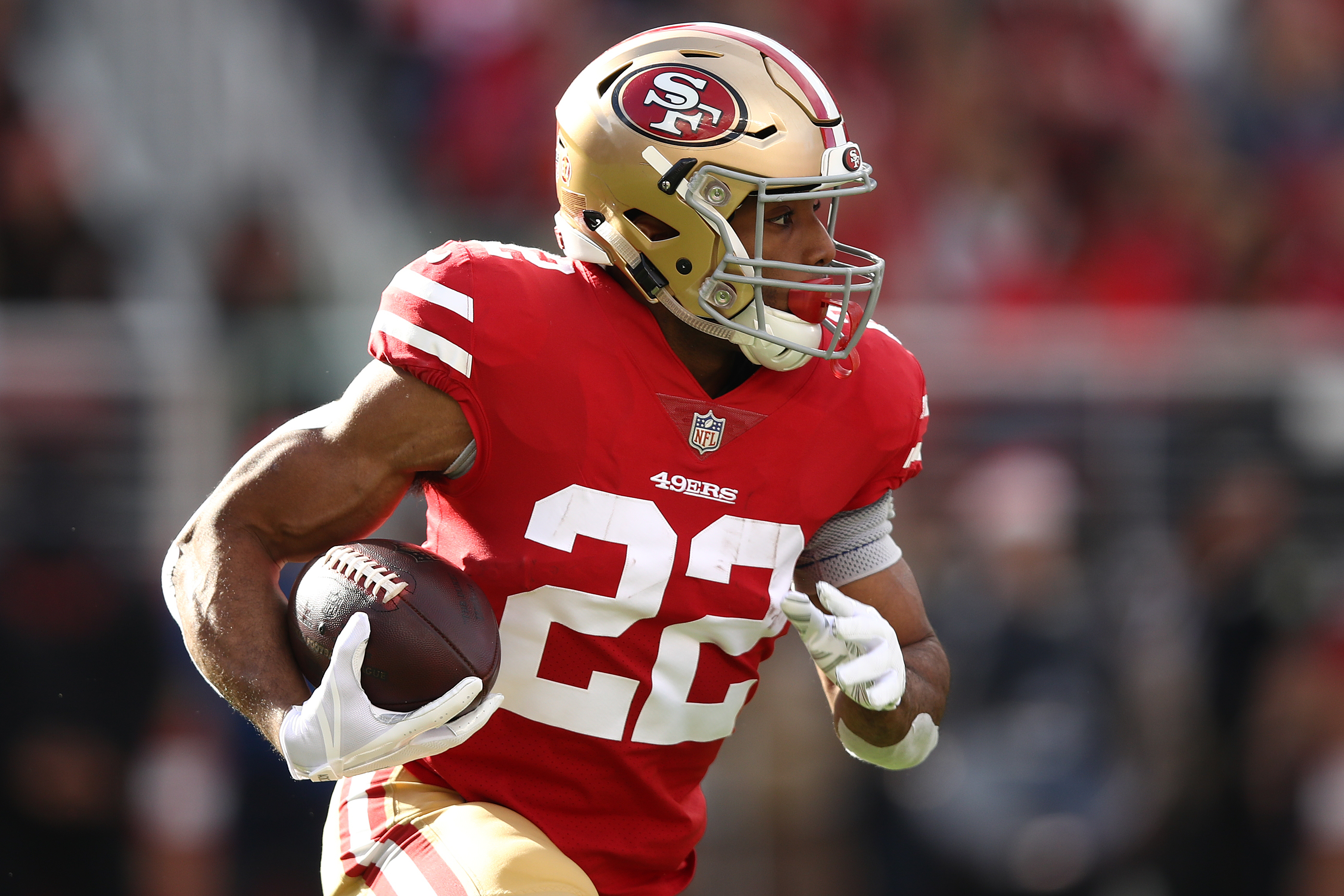 Would you trade one of the 49ers  running backs  112179ef6