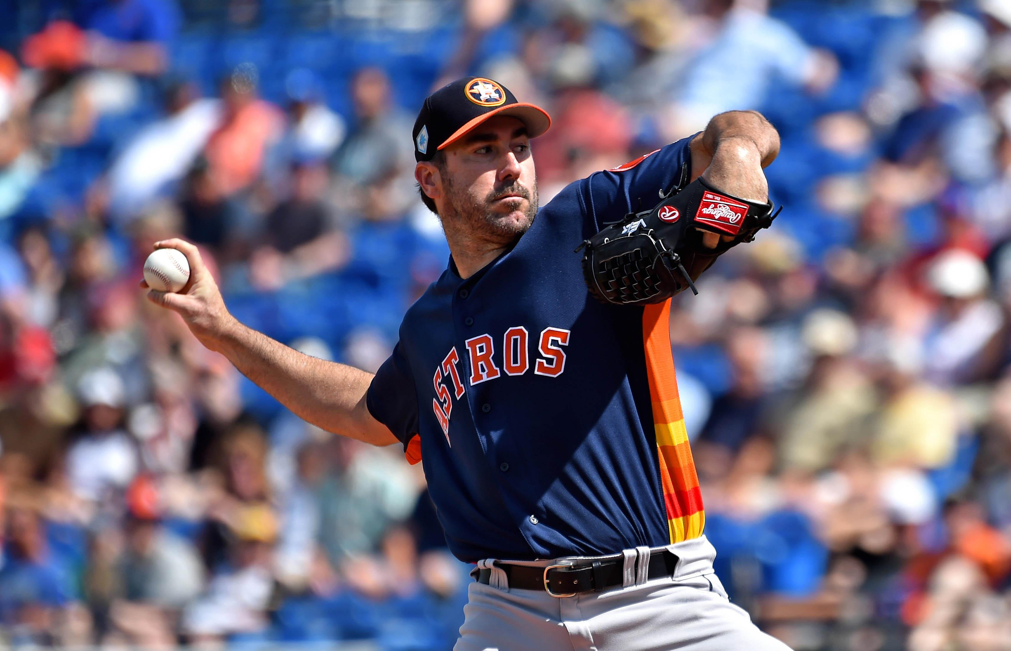 MLB: Spring Training-Houston Astros at New York Mets