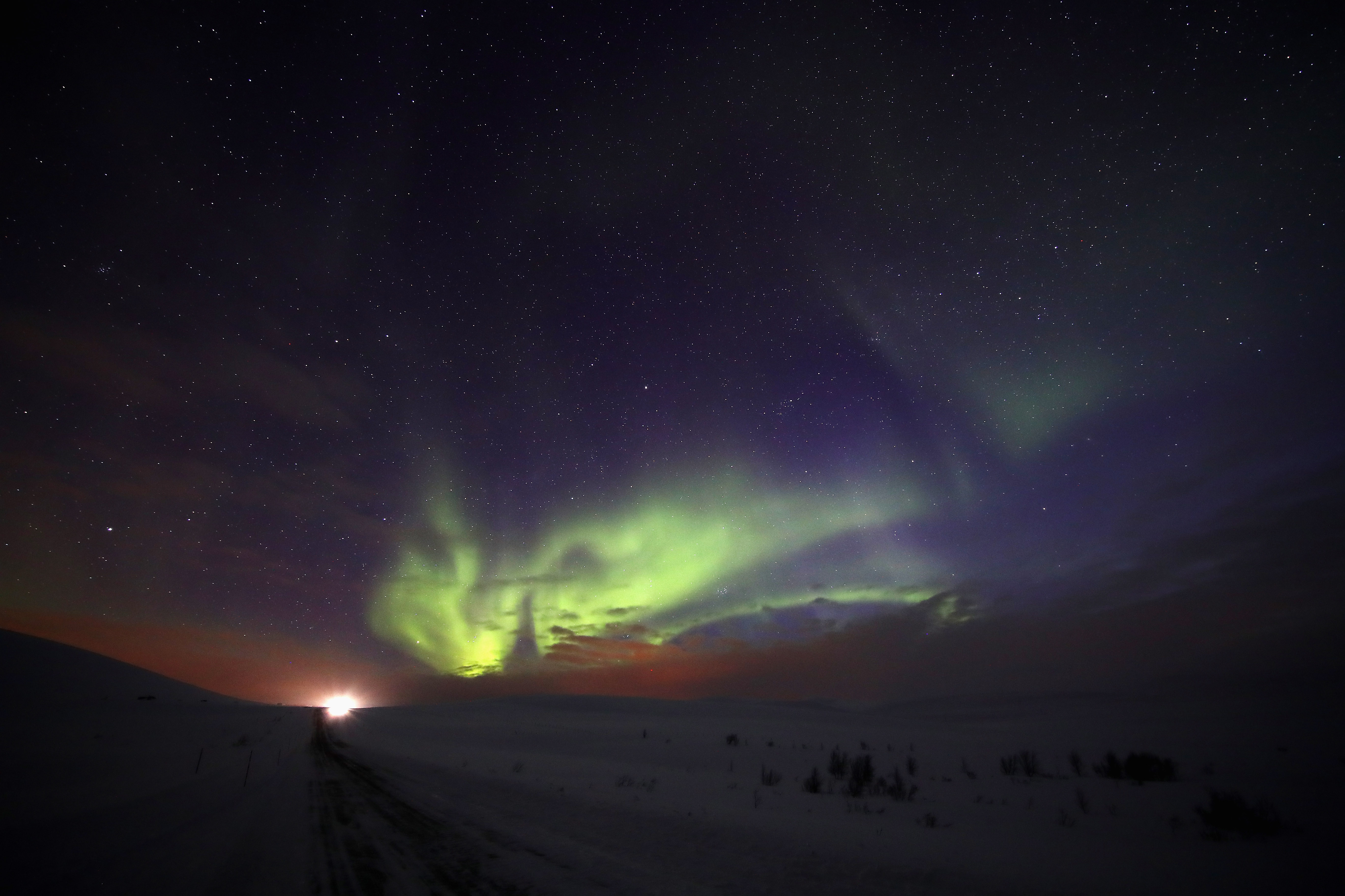 A rare solar storm may bring the Northern Lights south to the US
