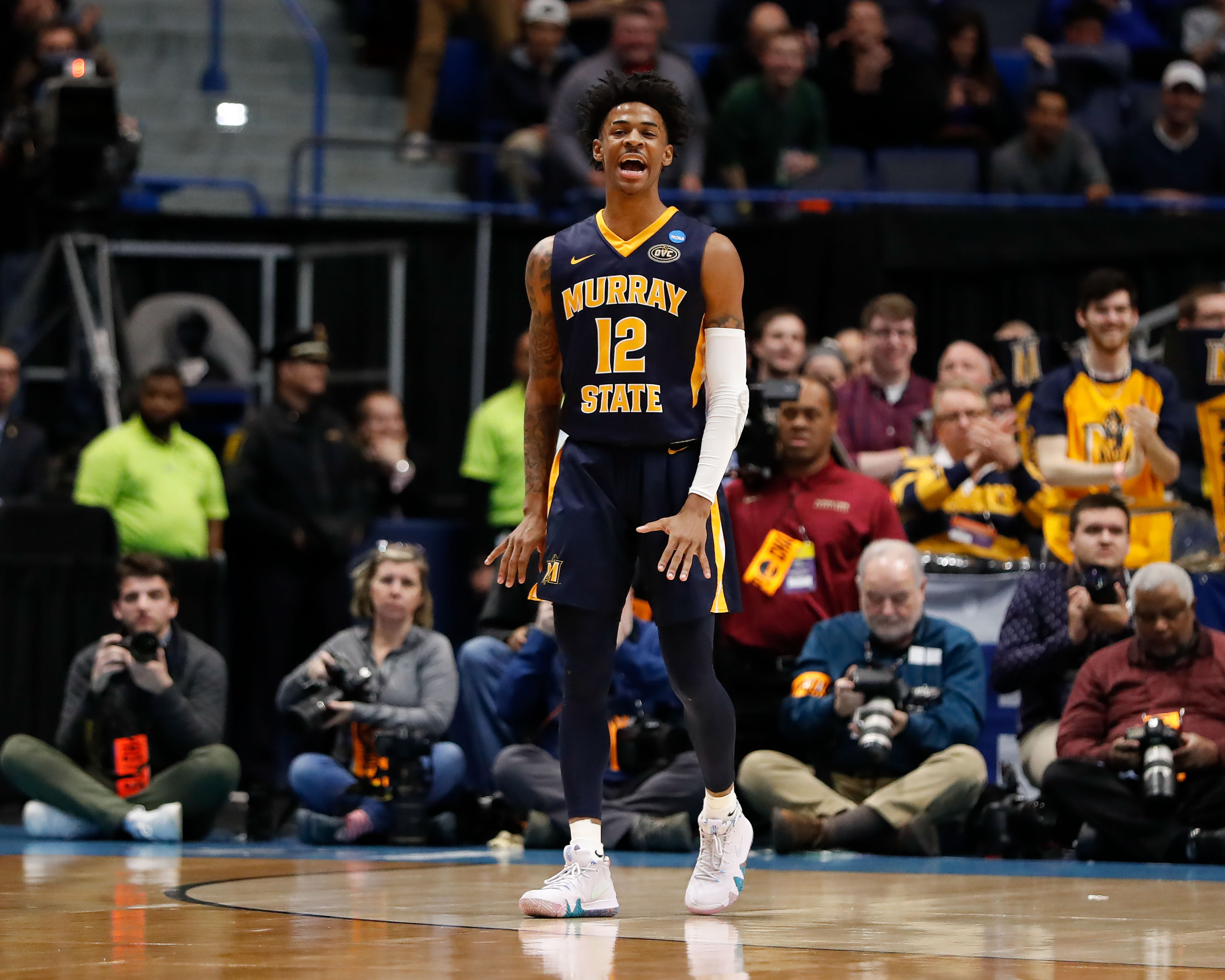 Ja Morant's NCAA tournament showed us why he's going to be a top NBA Draft pick