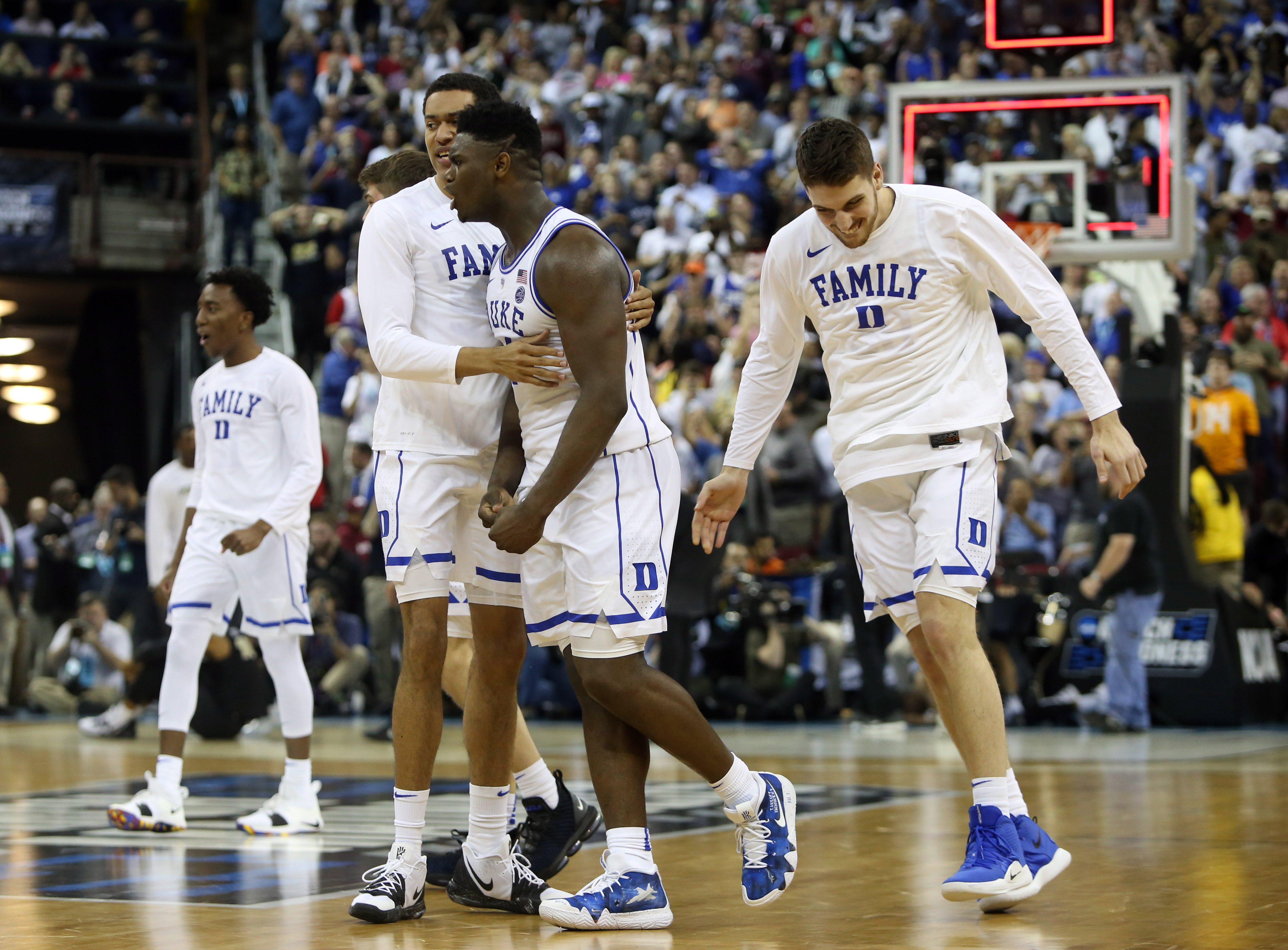 Duke vs. UCF: Zion Williamson, Blue Devils survive best game of March Madness