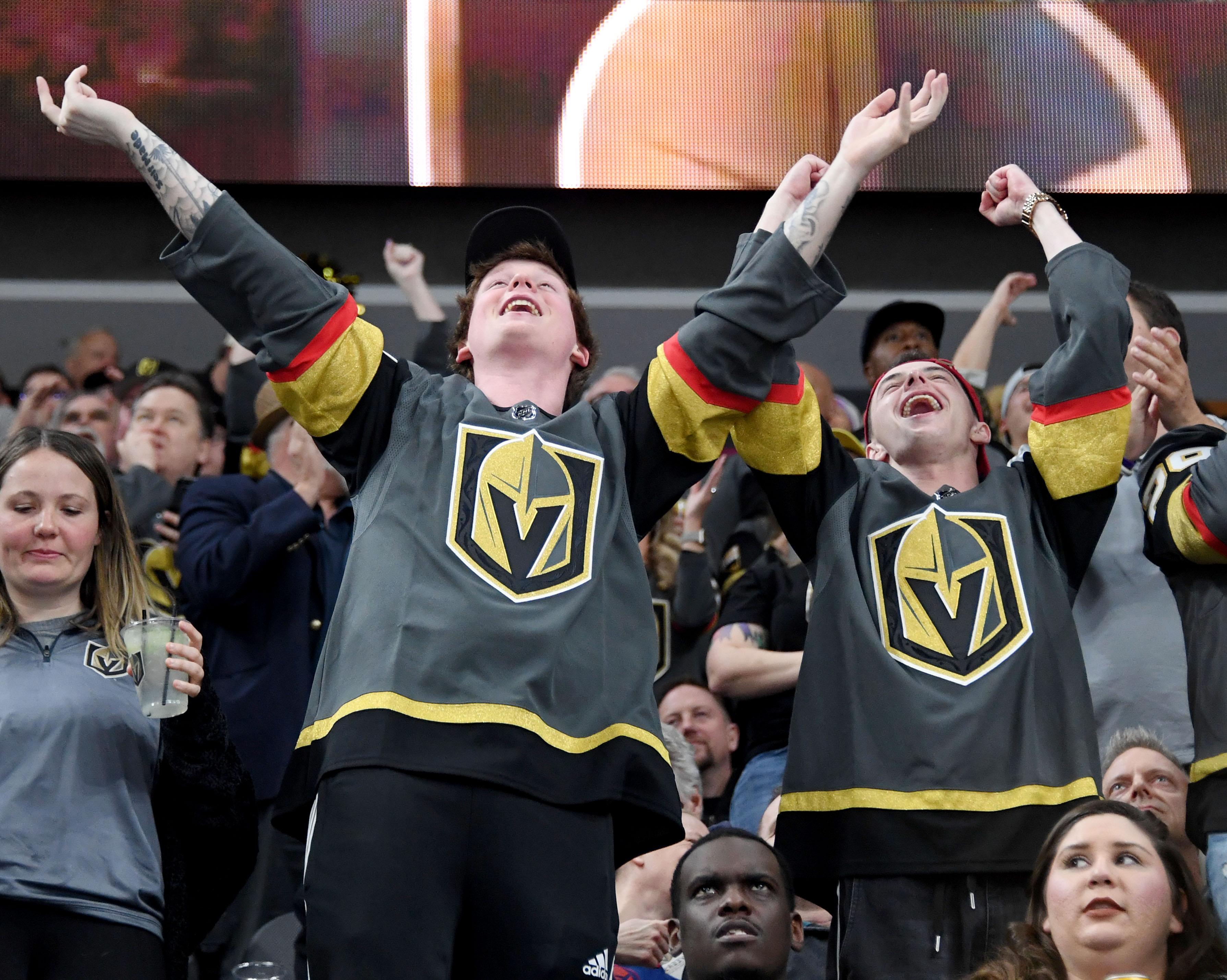 Winnipeg Jets v Vegas Golden Knights
