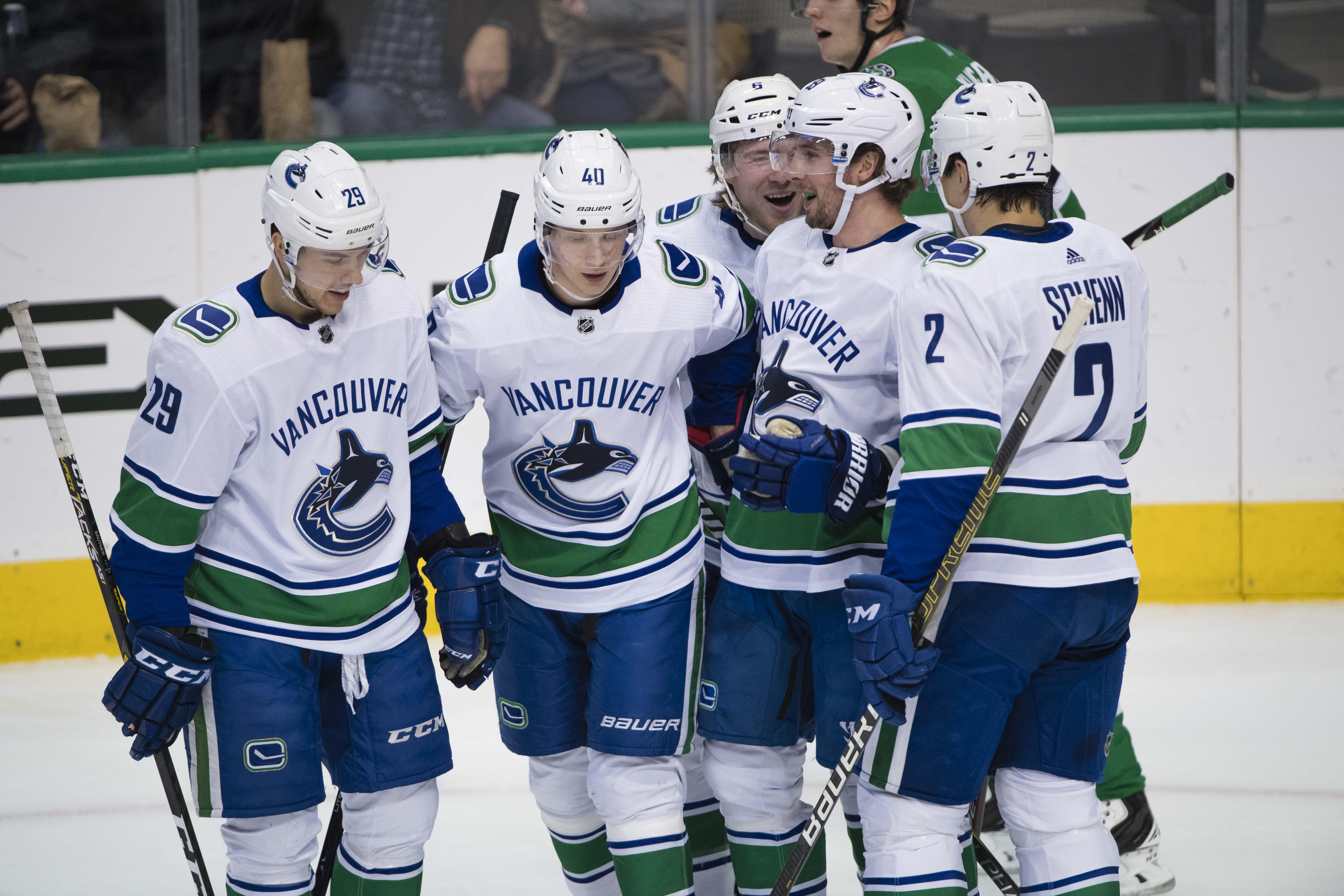 NHL: Vancouver Canucks at Dallas Stars
