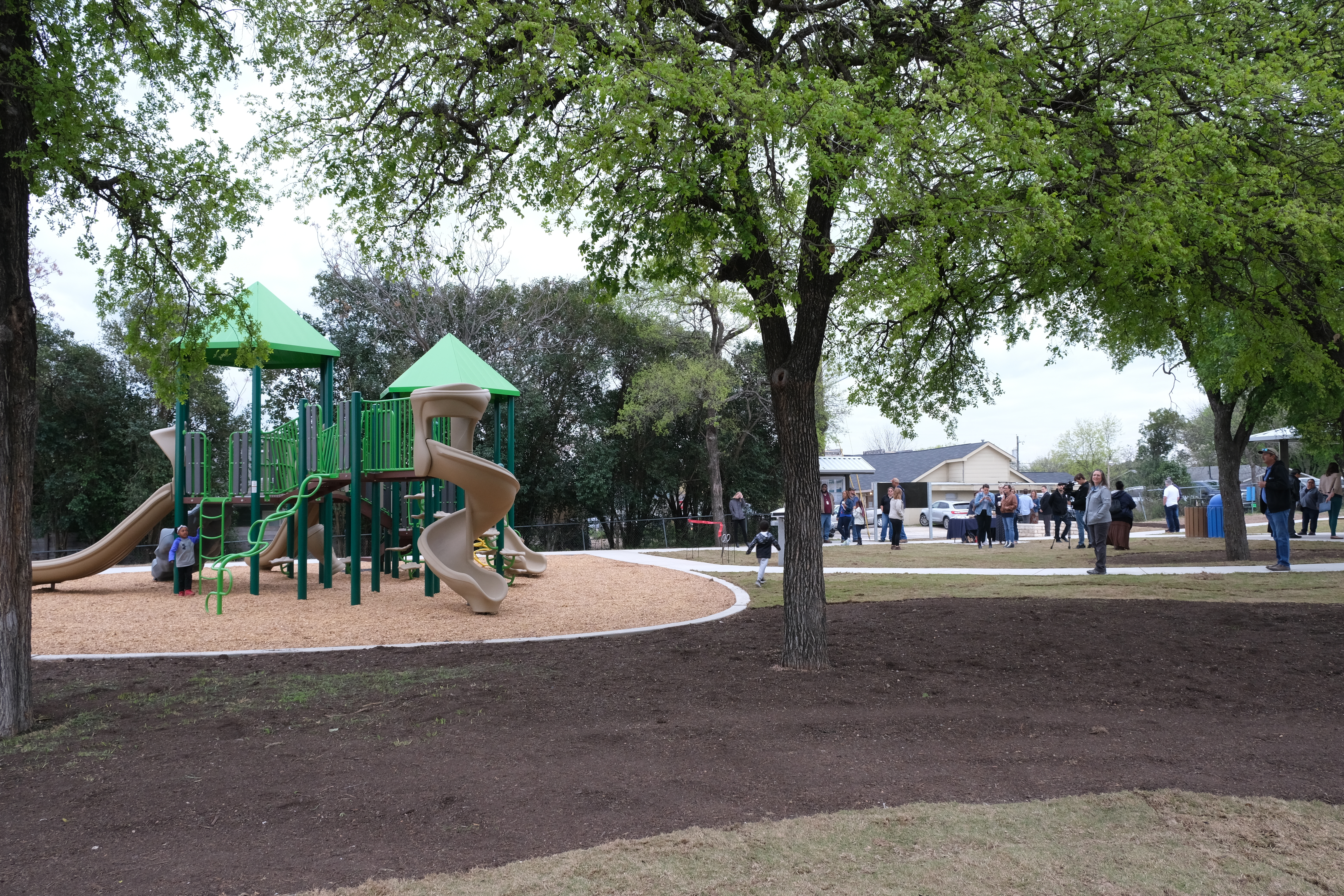 Family-focused pocket park breathes life into long-neglected space
