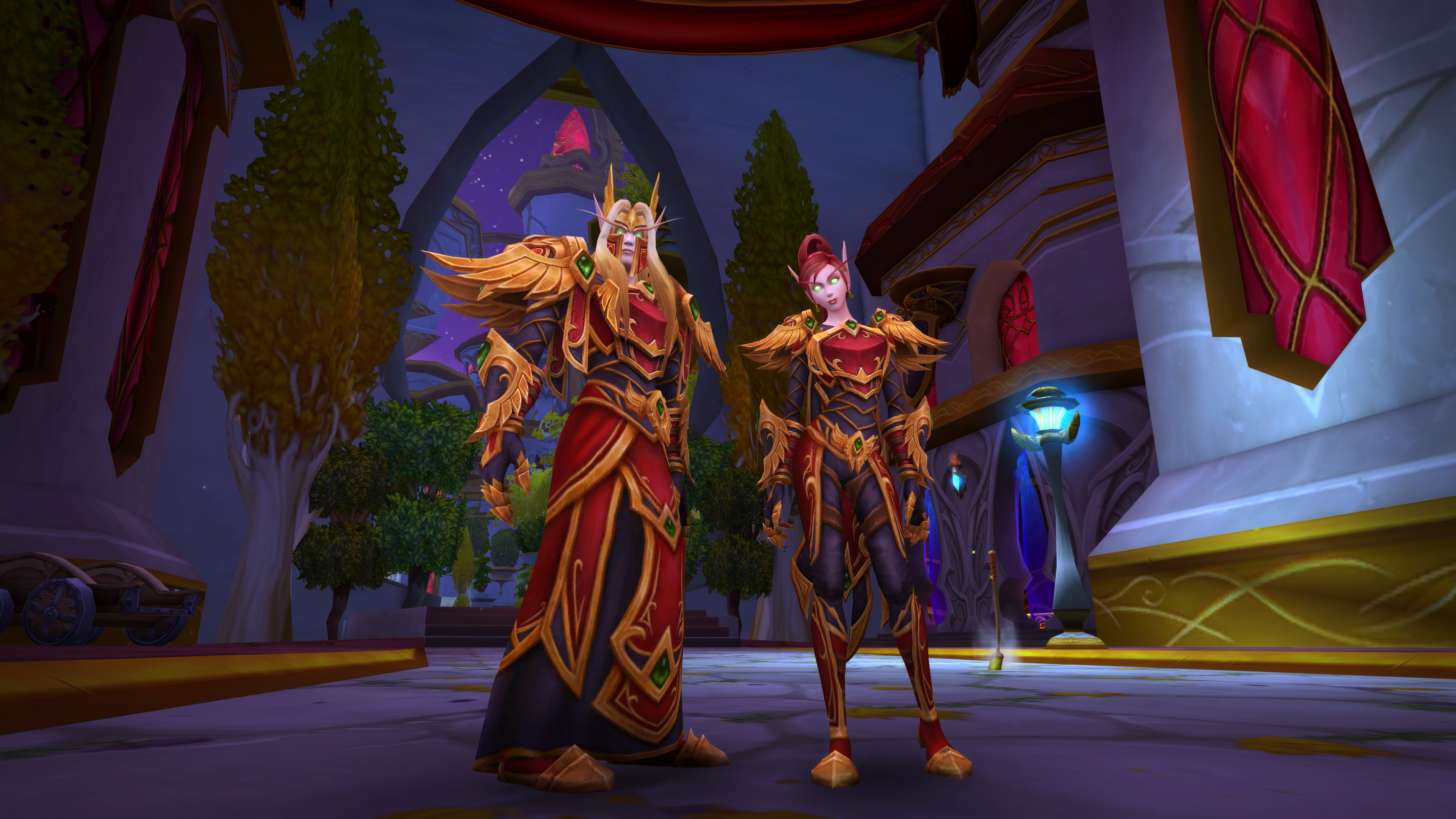 World of Warcraft clothing change: You'll be able to go shirtless