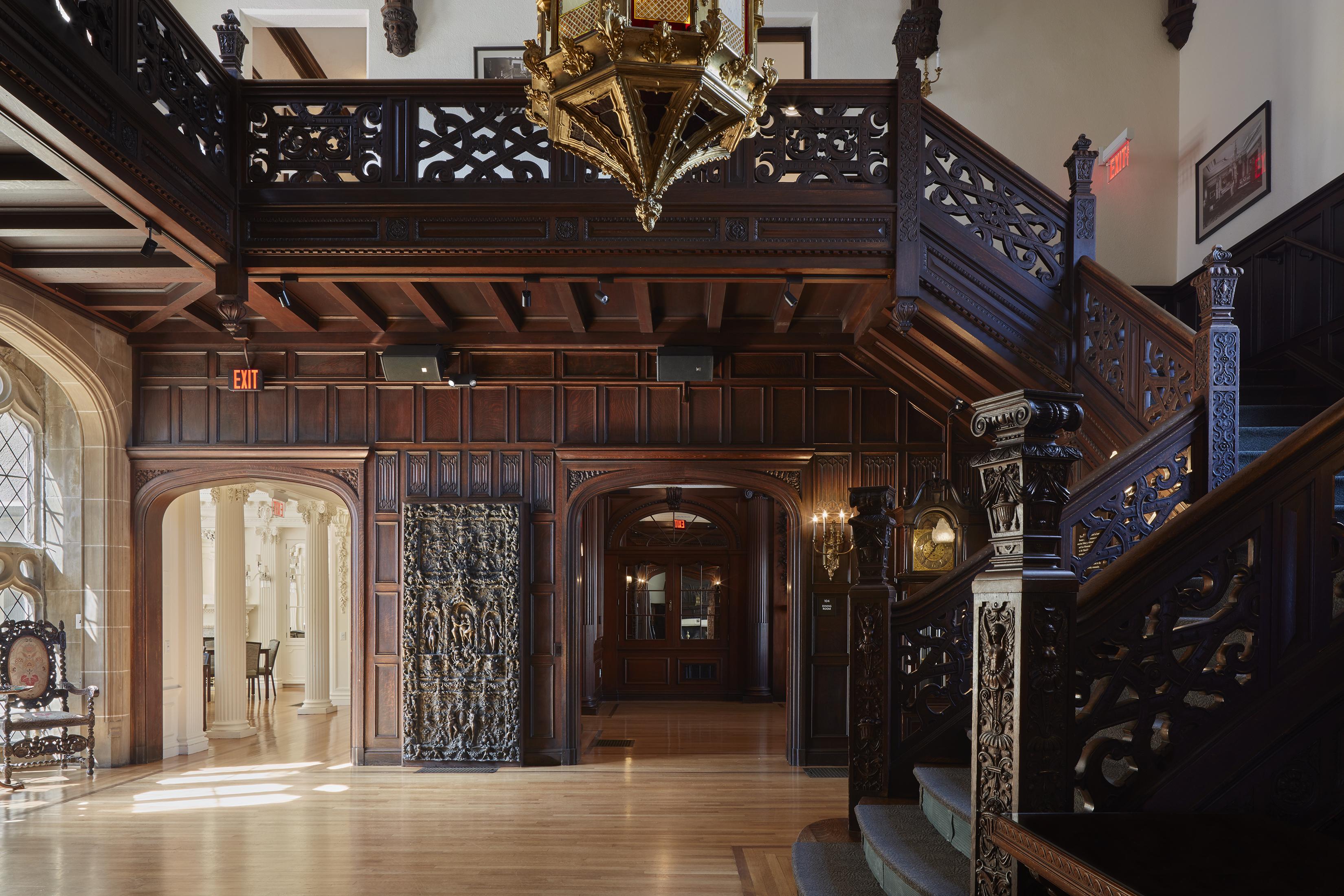 Boston University Castle restoration: Photos