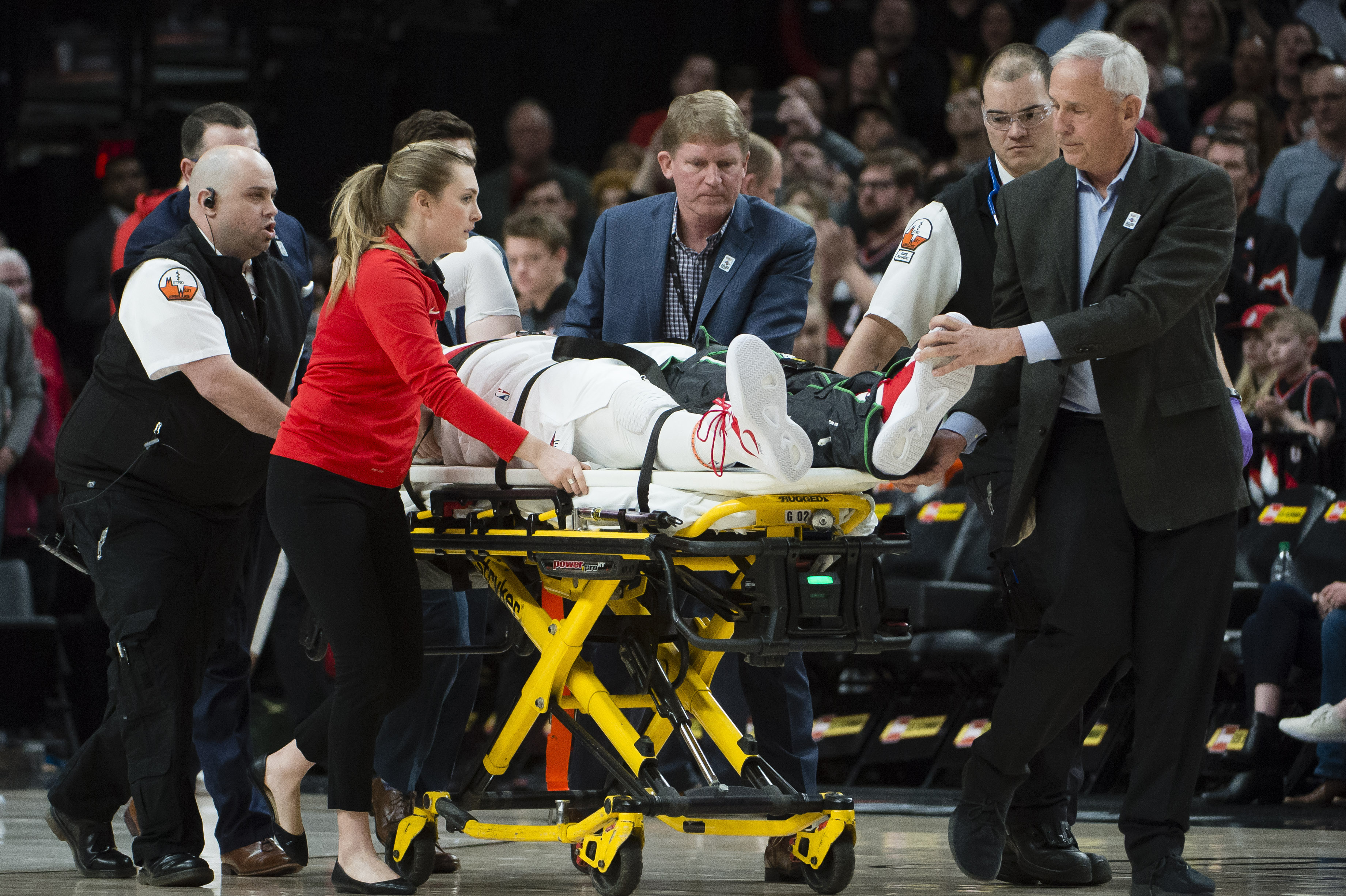Jusuf Nurkic injury a crushing blow to the Blazers