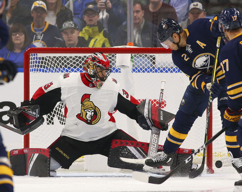 NHL: Ottawa Senators at Buffalo Sabres