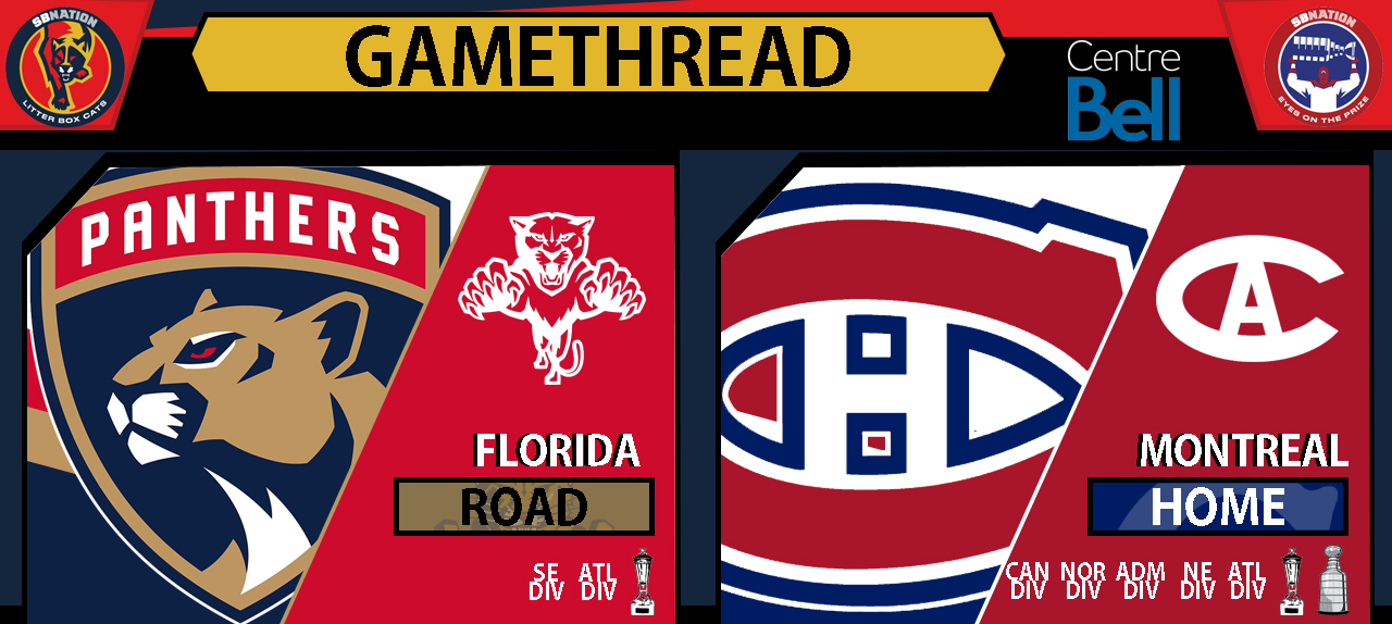 0597f4cfd20 GameDay Caterwaul   Thread  Florida Panthers at Montreal Canadiens. Litter  Box Cats  ...