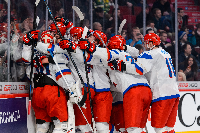 2015 IIHF World Junior Championship - Quarterfinal - United States v Russia