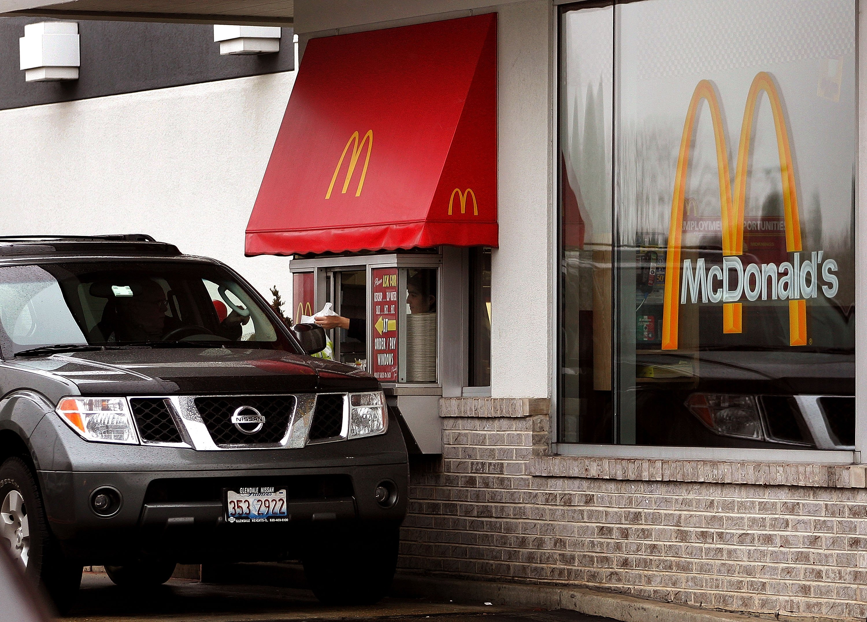 McDonald's new drive-thru menus will change based on the weather, traffic, and time of day