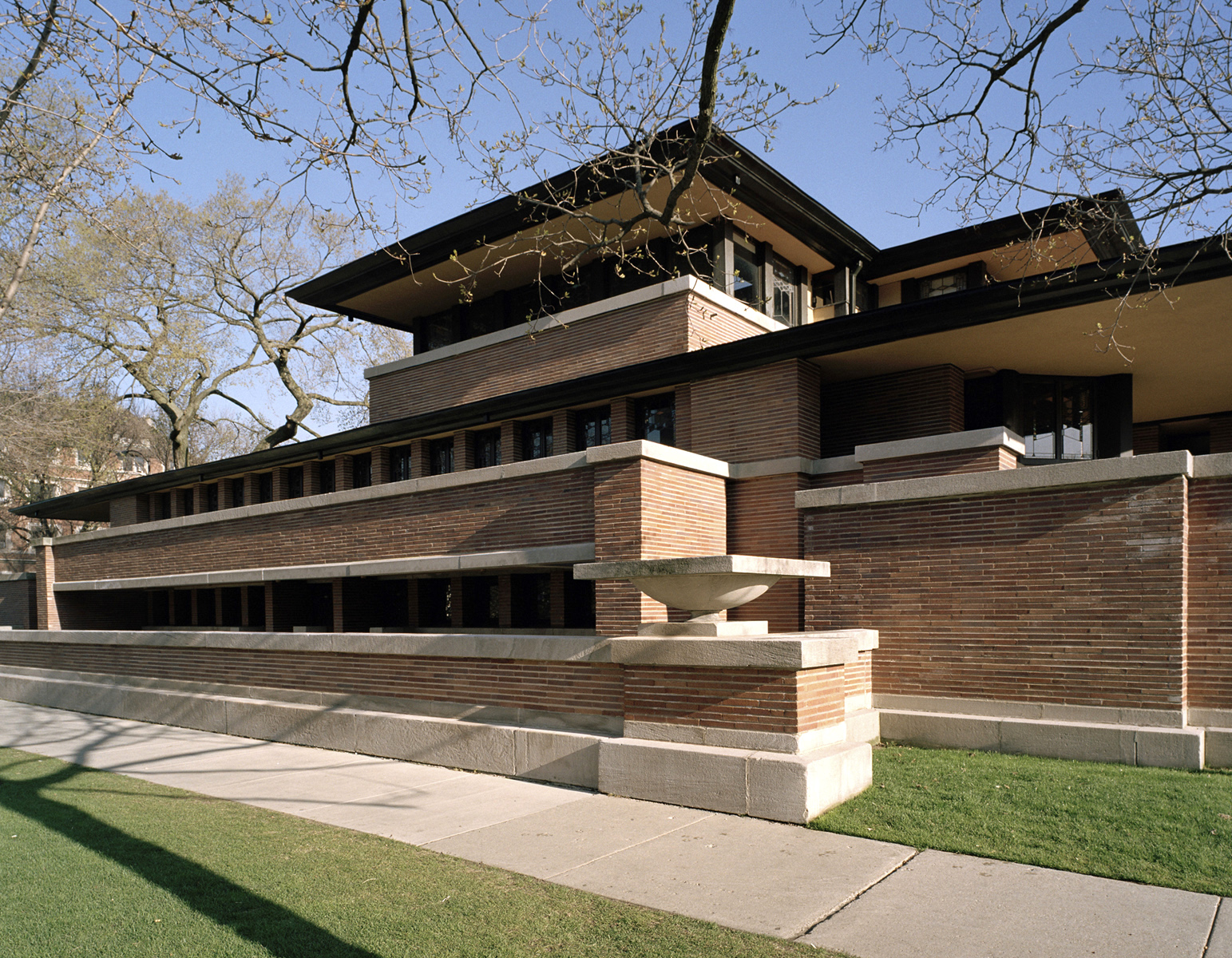 Frank Lloyd Wright's iconic Robie House reopens after major restoration