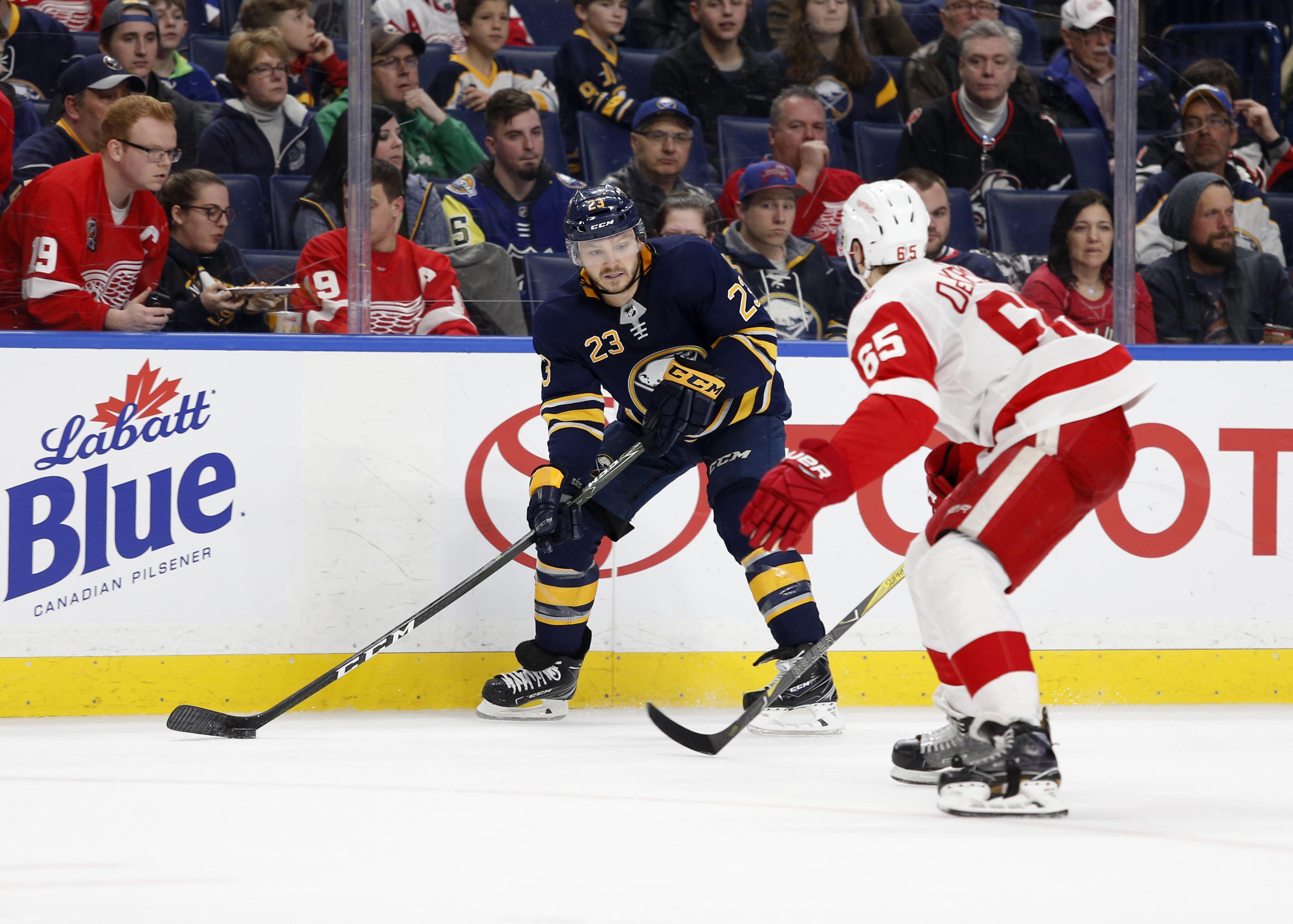 NHL: Detroit Red Wings at Buffalo Sabres