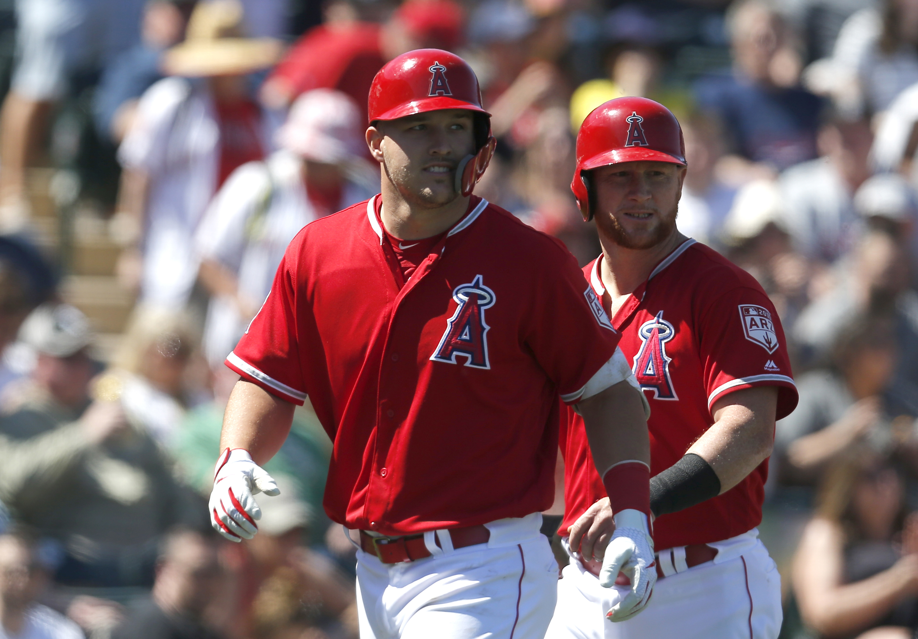 MLB: Spring Training-Chicago White Sox at Los Angeles Angels