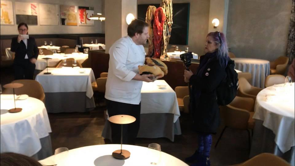 Michelin-starred restaurant The Square was visited by DXE animal rights protesters — chef Clement Leroy presented them with two dead ducks