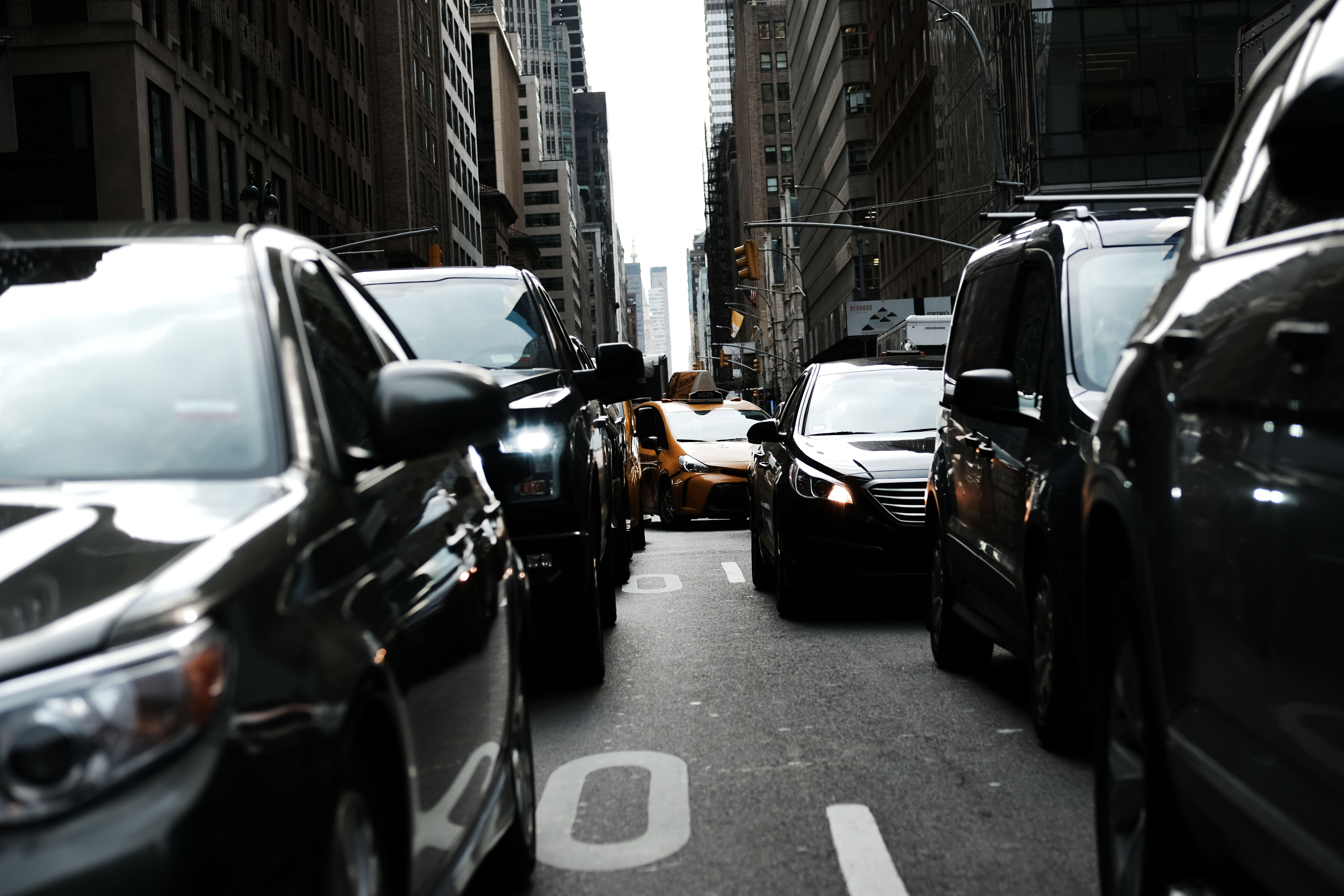 NYC Mayor De Blasio And NY Governor Cuomo Announce Congestion Pricing For Manhattan And Reorganization Of MTA