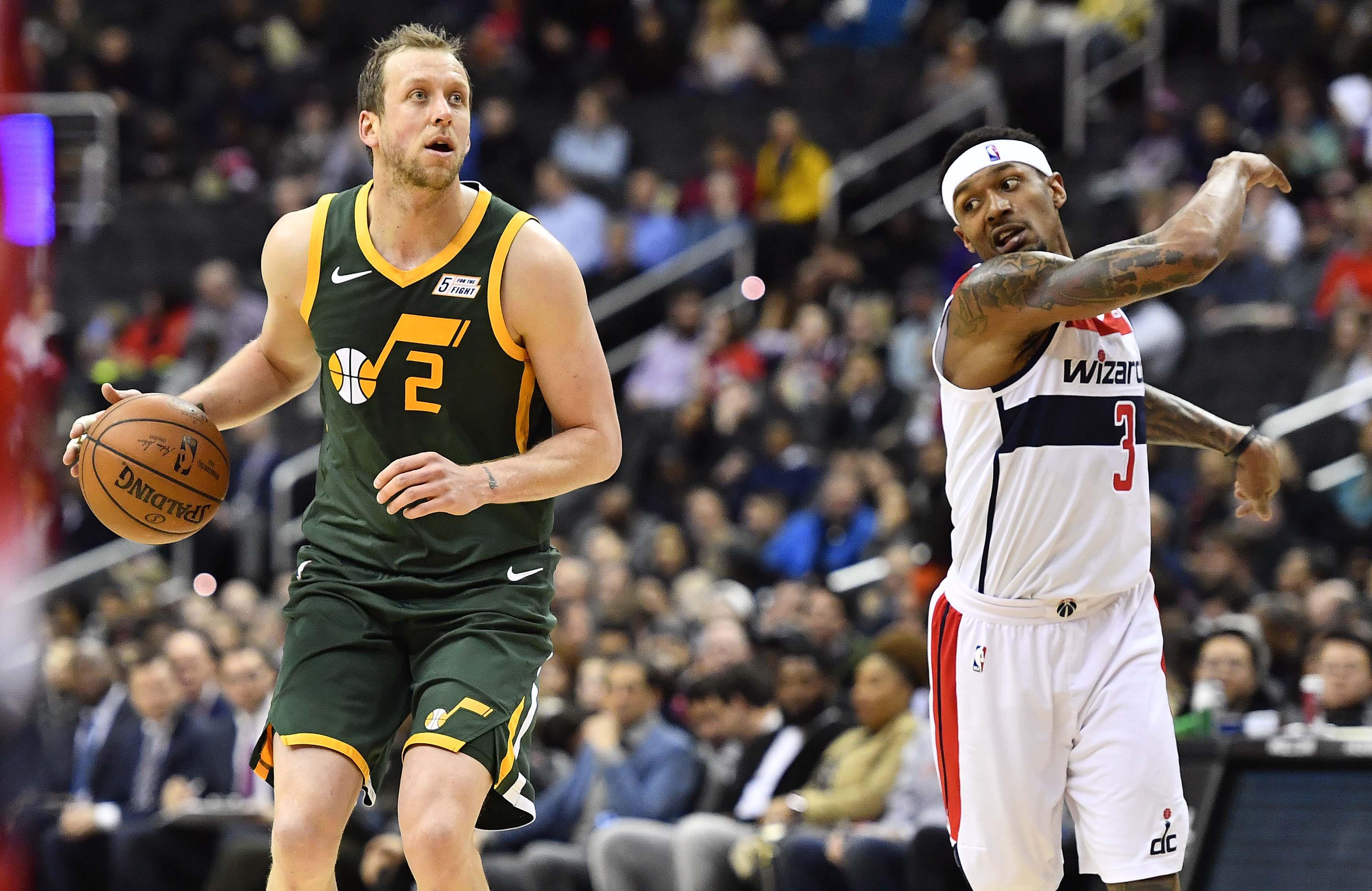 NBA: Utah Jazz at Washington Wizards