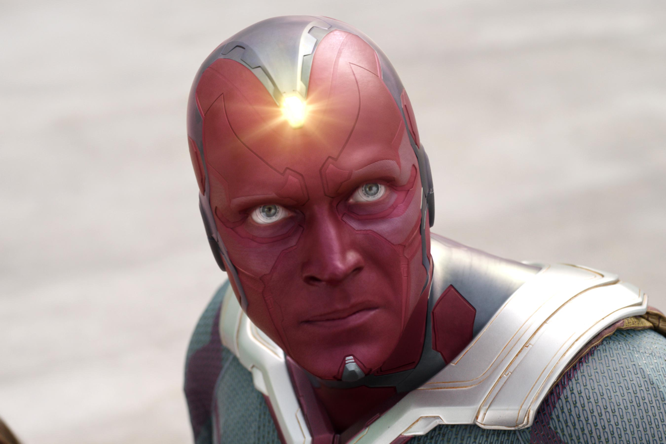 The Vision (Paul Bettany) in Captain America: Civil War