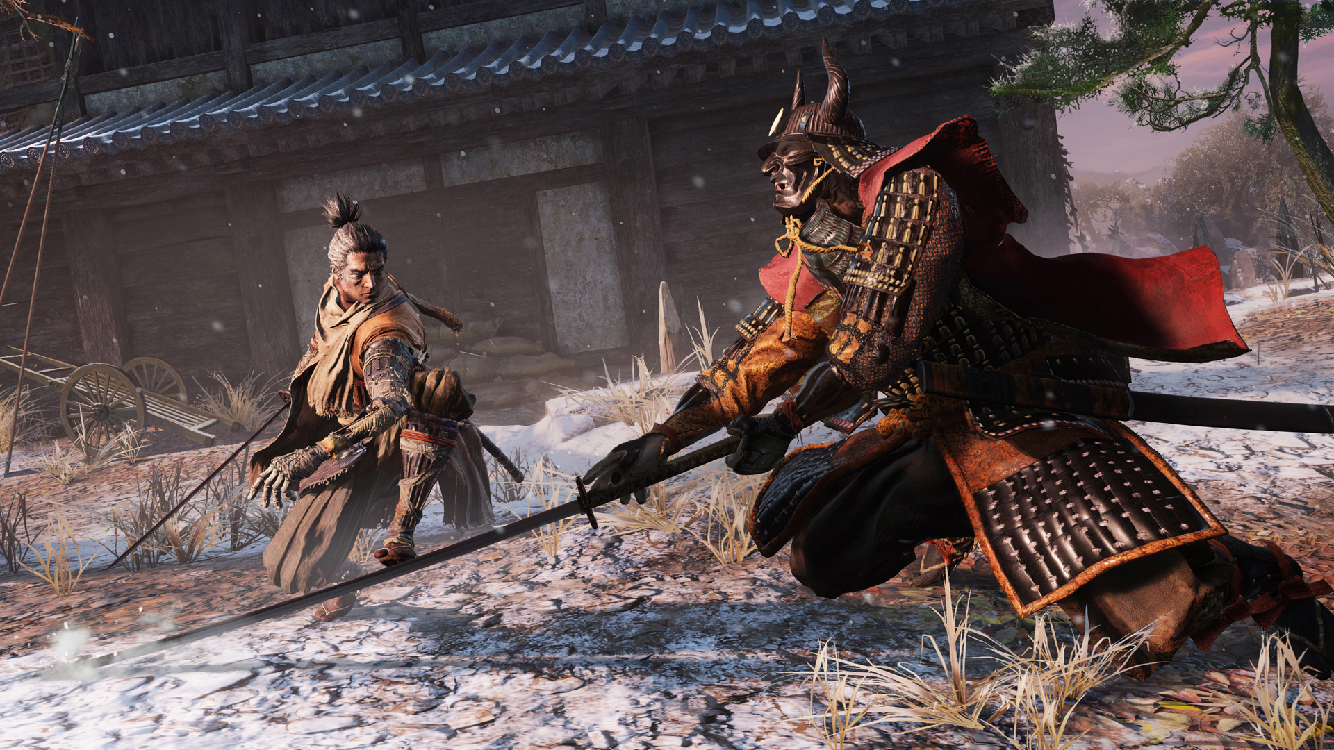 Sekiro's first boss is beatable, watch what happens if you