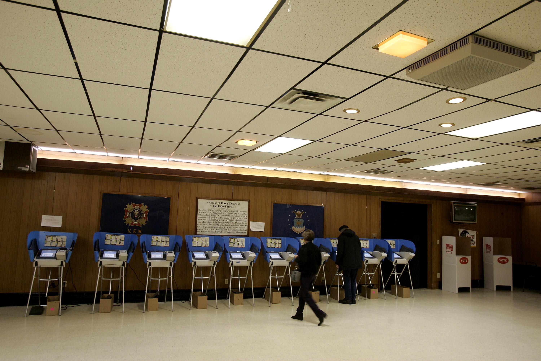 Ohio Voters Go To The Polls On Primary Day