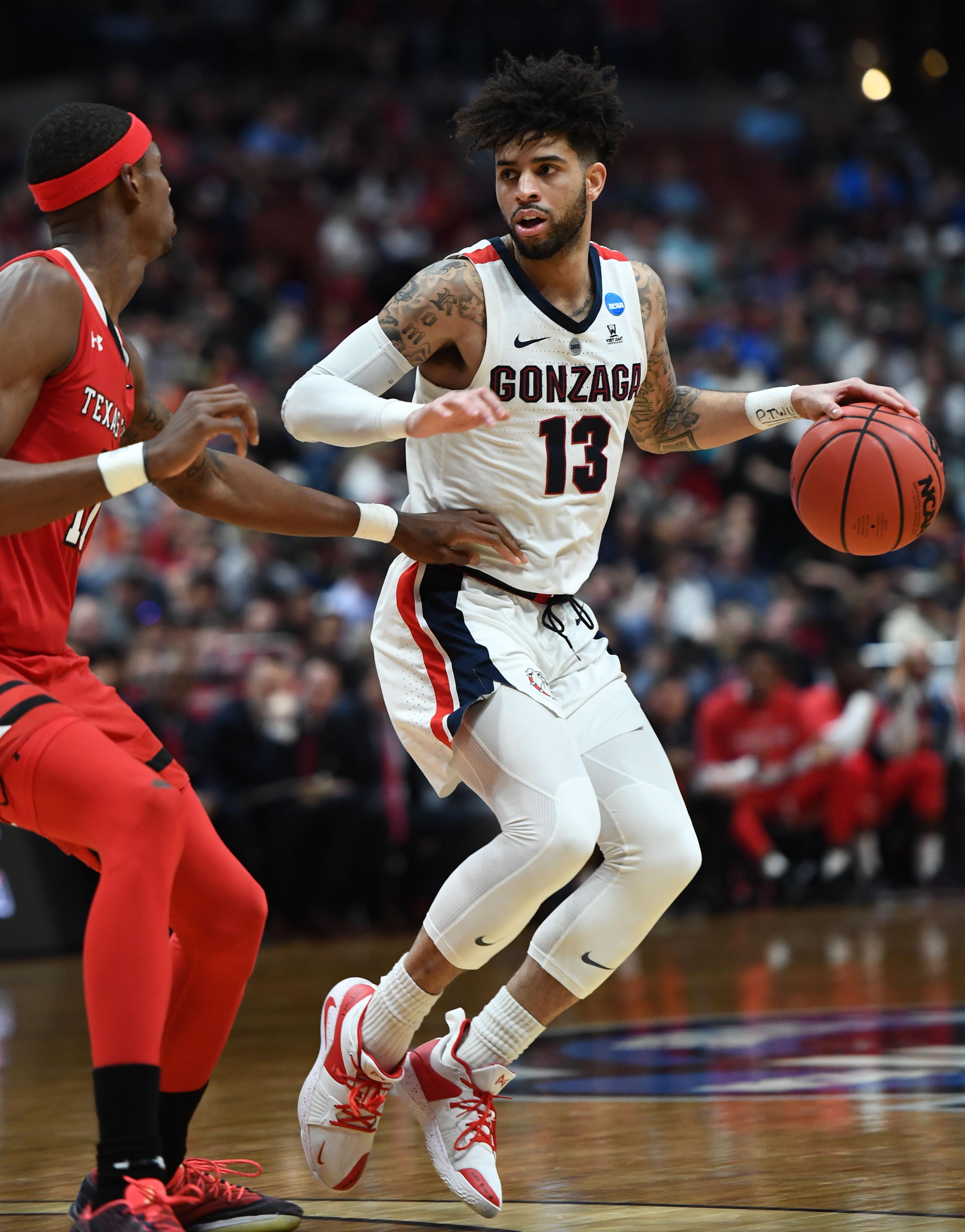 NCAA Basketball: NCAA Tournament-West Regional-Gonzaga vs Texas Tech