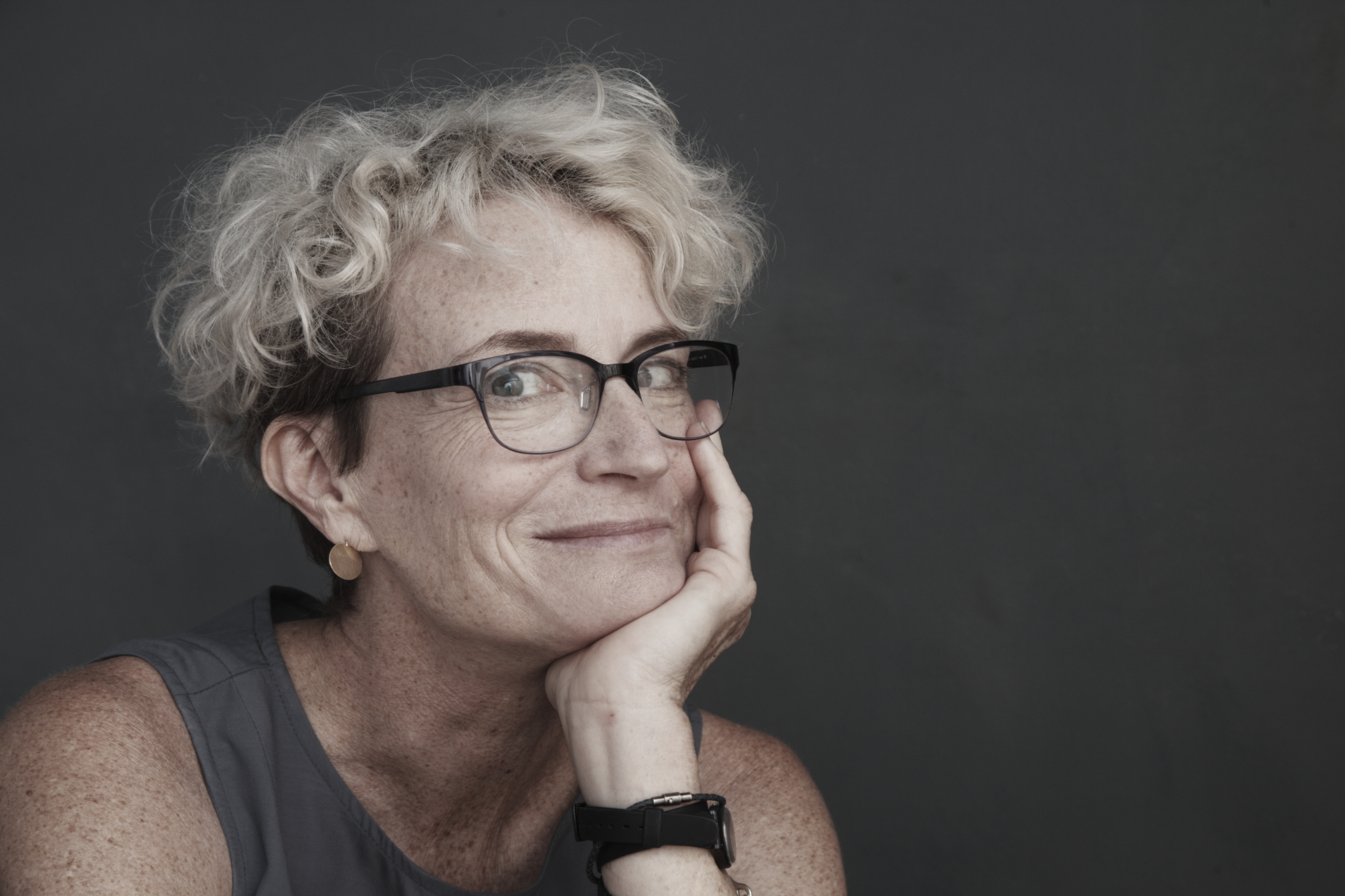 Anti-ageism activist Ashton Applewhite.