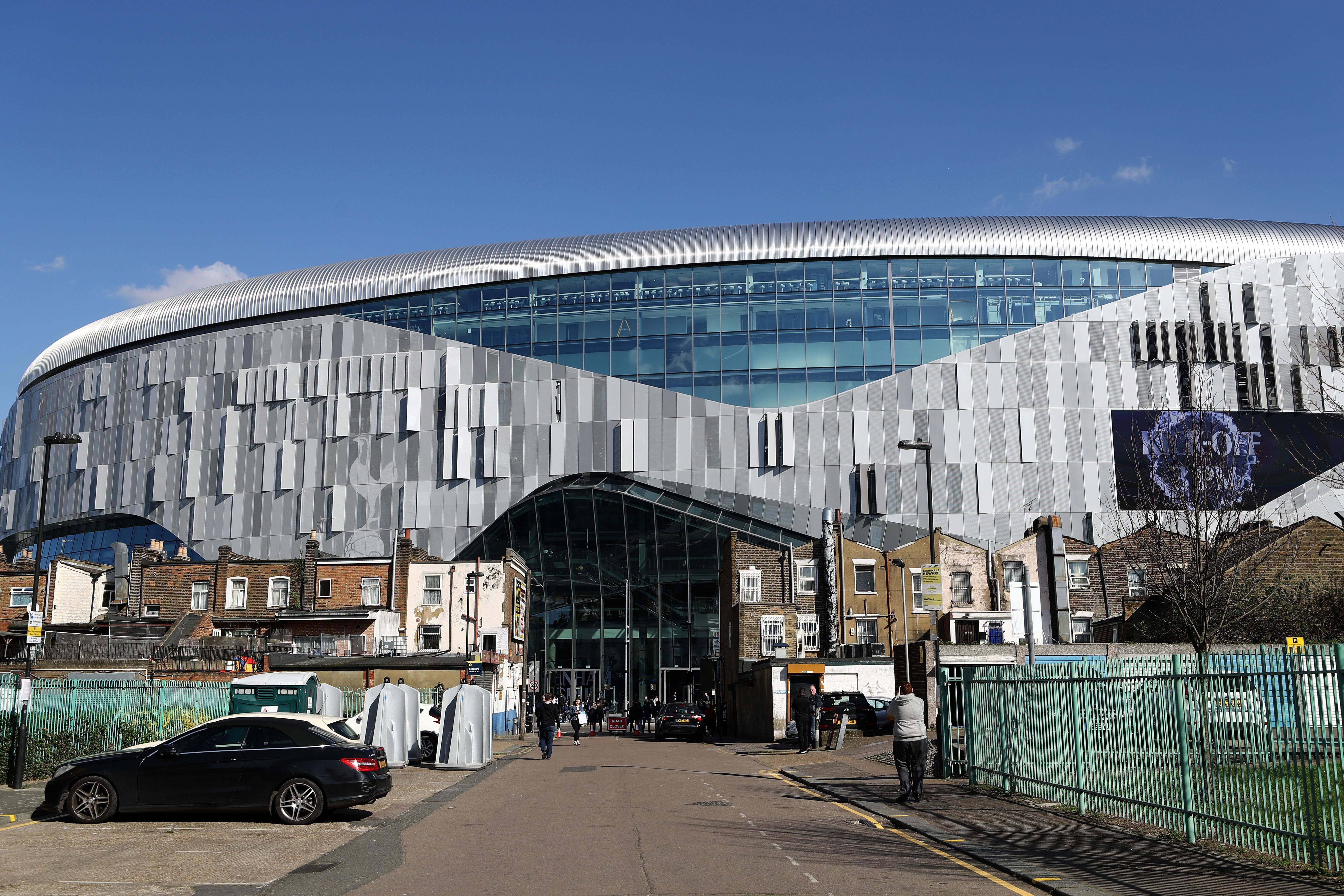 New Tottenham Stadium - Premier League
