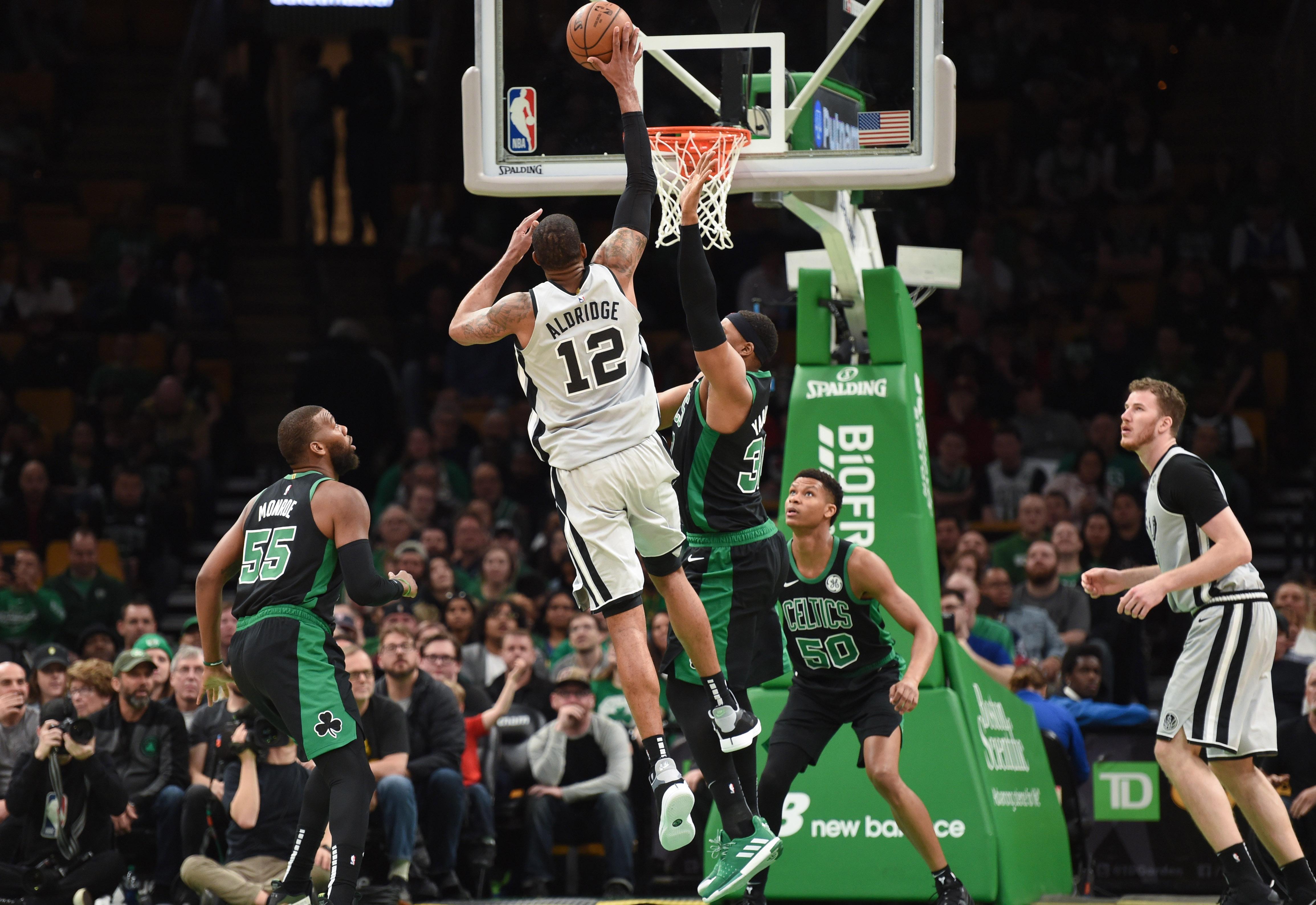 NBA: San Antonio Spurs at Boston Celtics