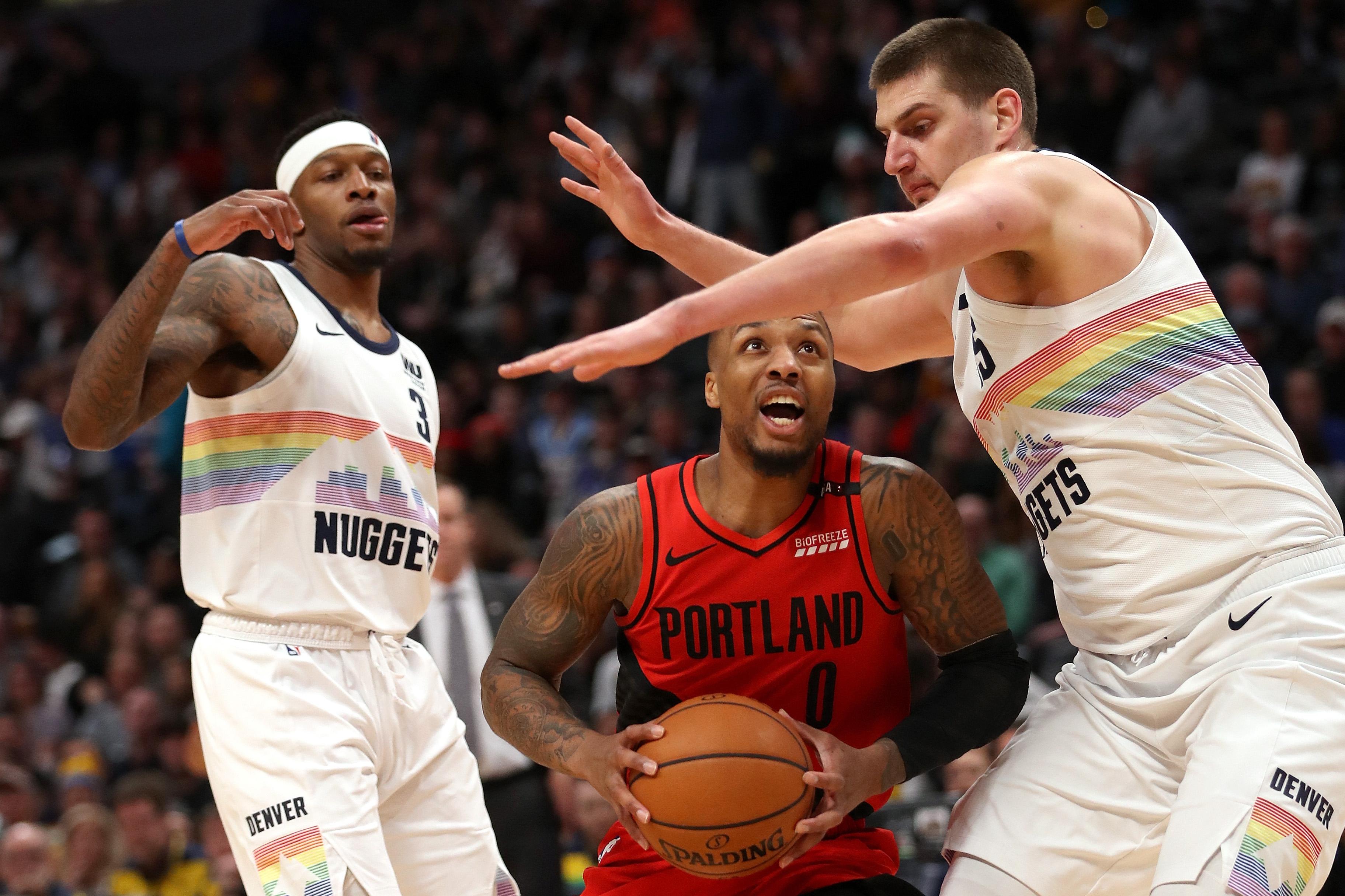 Portland Trail Blazers v Denver Nuggets