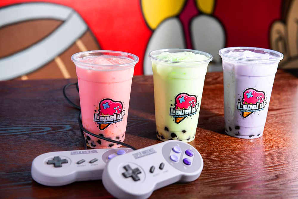 Meet the First Combination Ice Creamery and Video Game Lounge