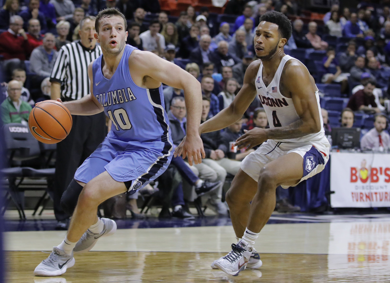 NCAA Basketball: Columbia at Connecticut