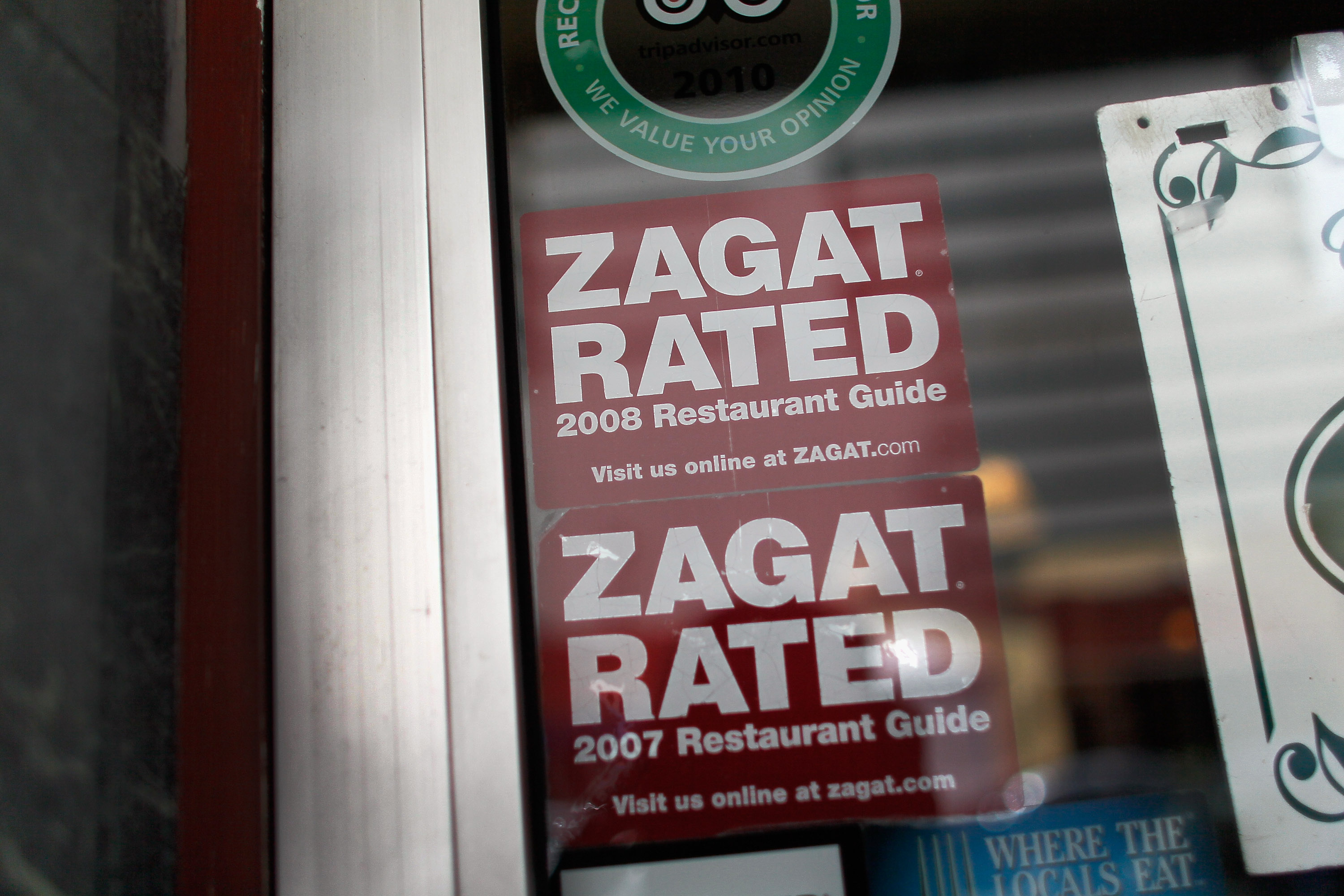 Zagat's Iconic Red Guidebooks Will Be Printed Again This Fall for NYC