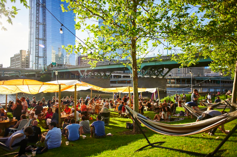Philly's Roving Beer Garden Parks On Tap Has Released its 2019 Location Lineup