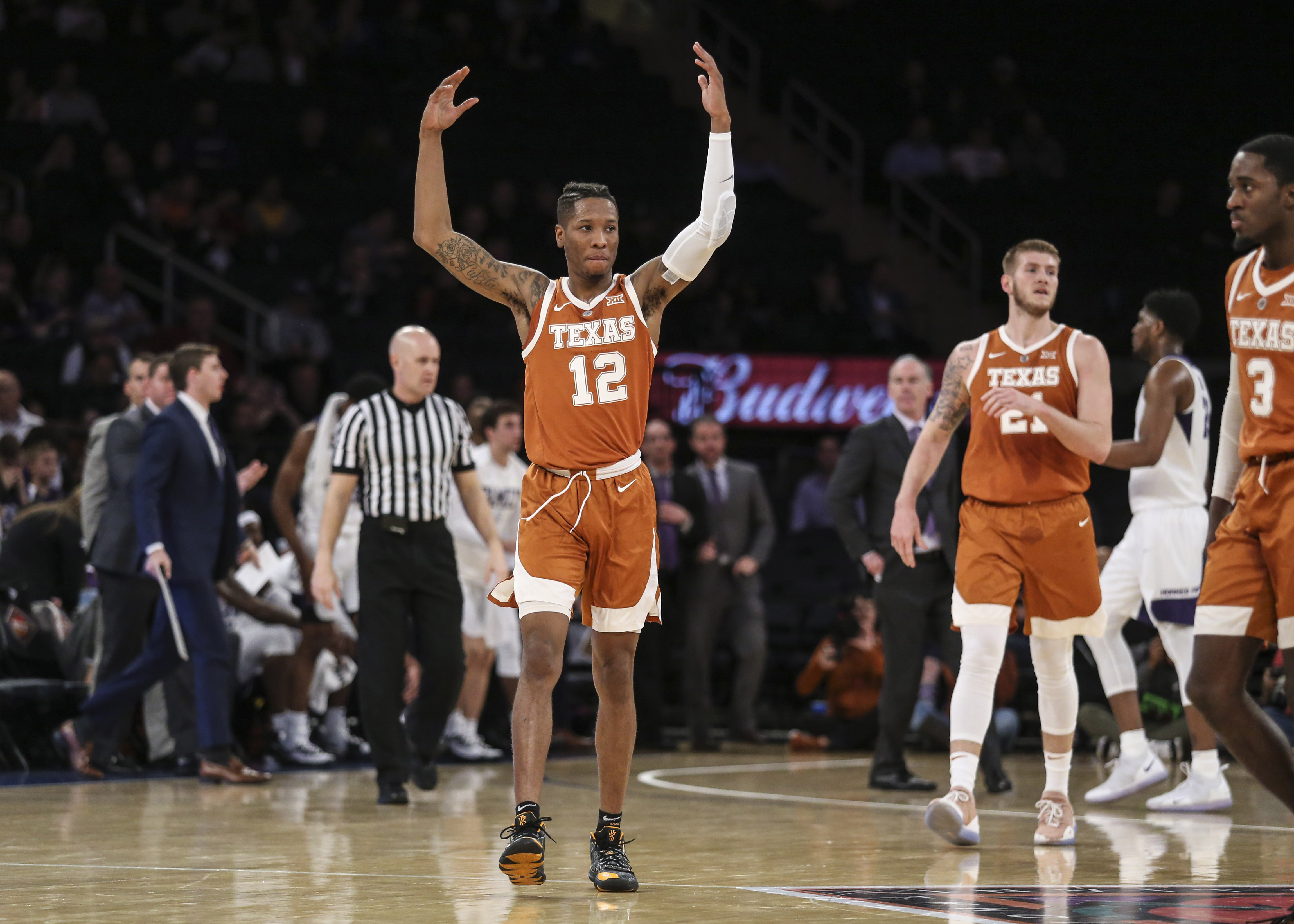 NCAA Basketball: NIT Semifinal-Texas vs TCU